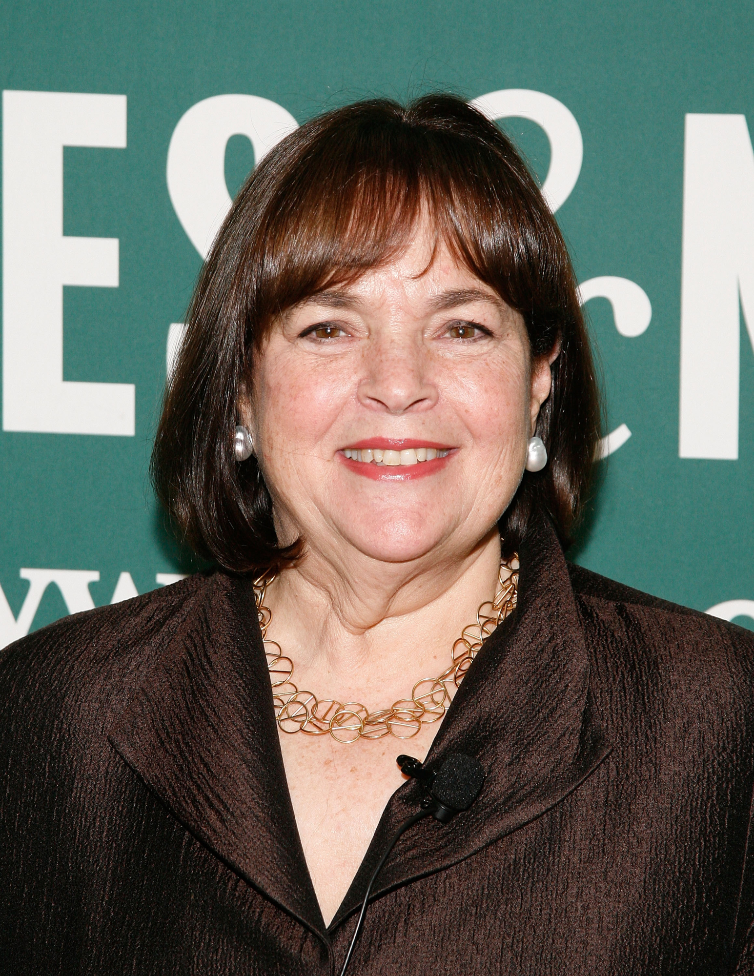 "Ina Garten Signs Copies Of Her Book ""Barefoot Contessa Foolproof: Recipes You Can Trust"""