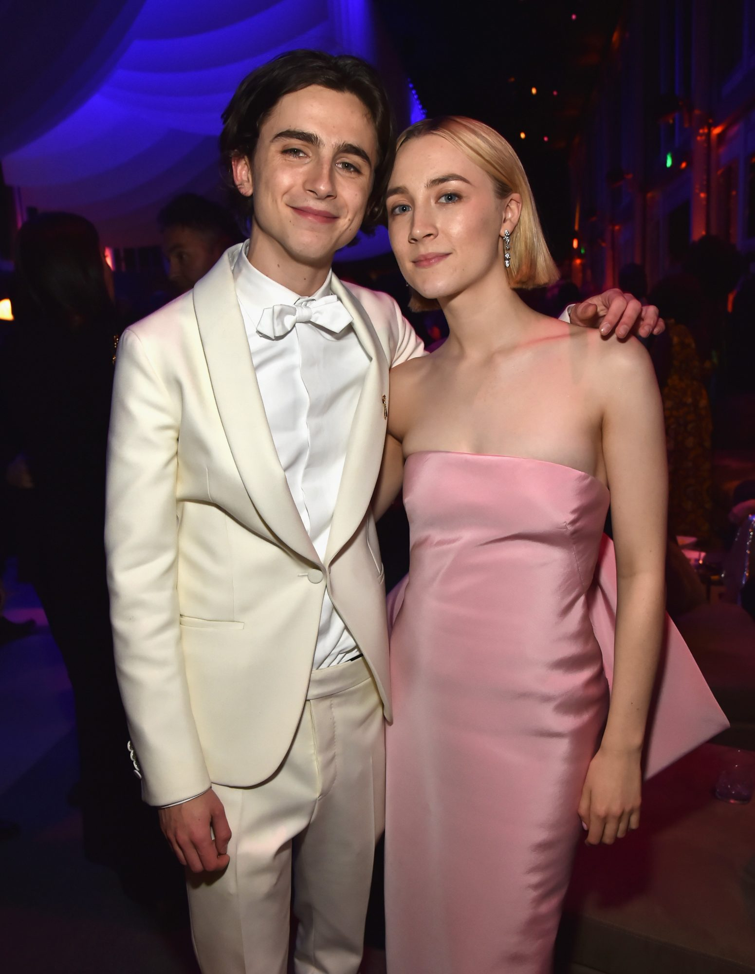 Timothee Chalamet and Saoirse Ronan