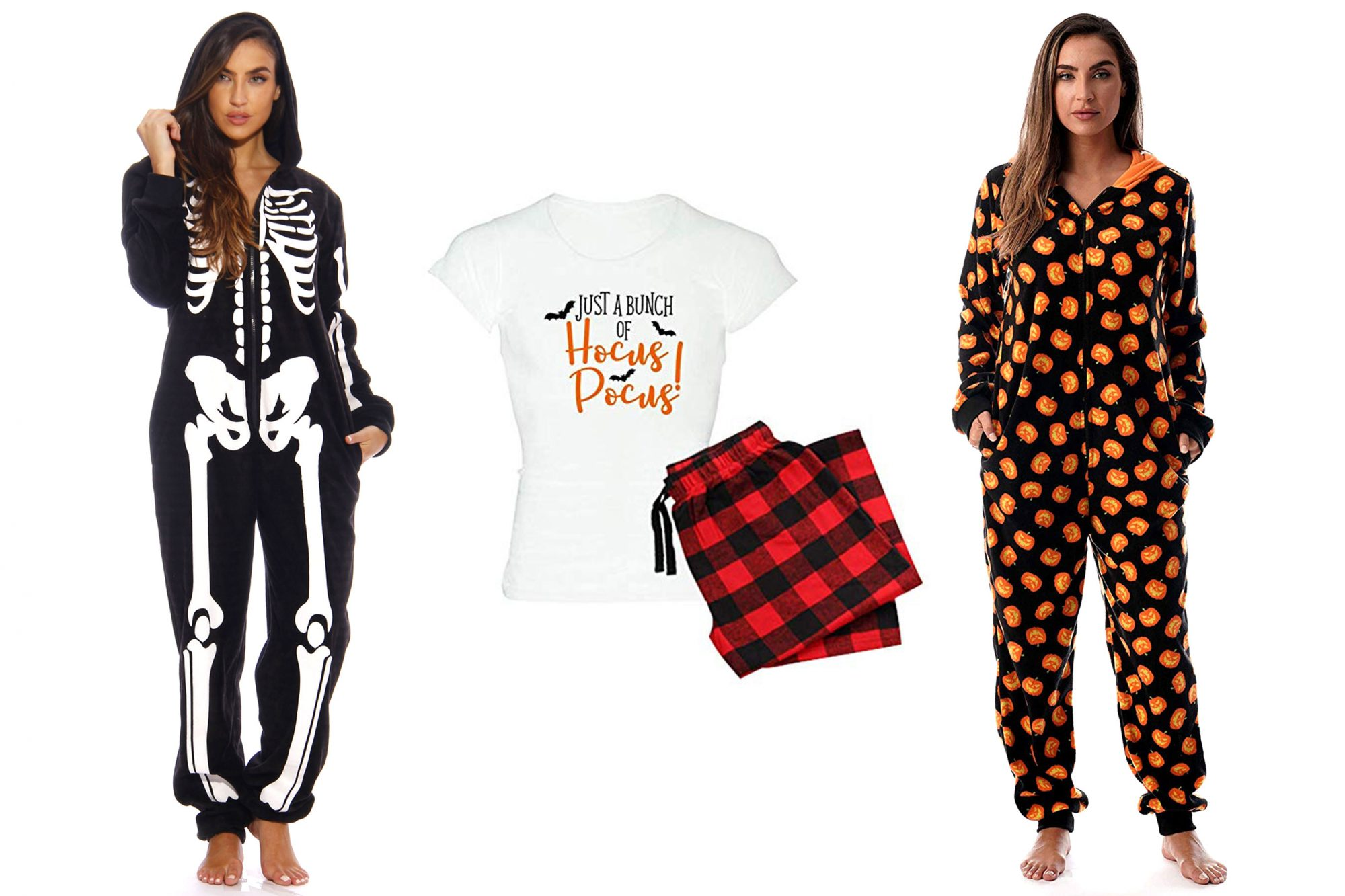Halloween Pajamas adult women