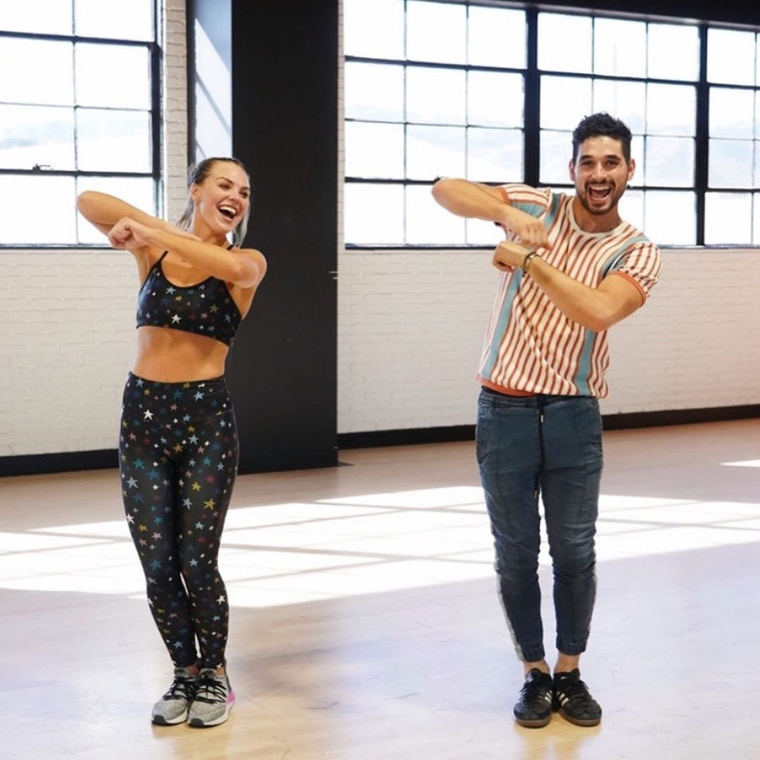 Hannah Brown and Alan Bersten Dancing With the Stars