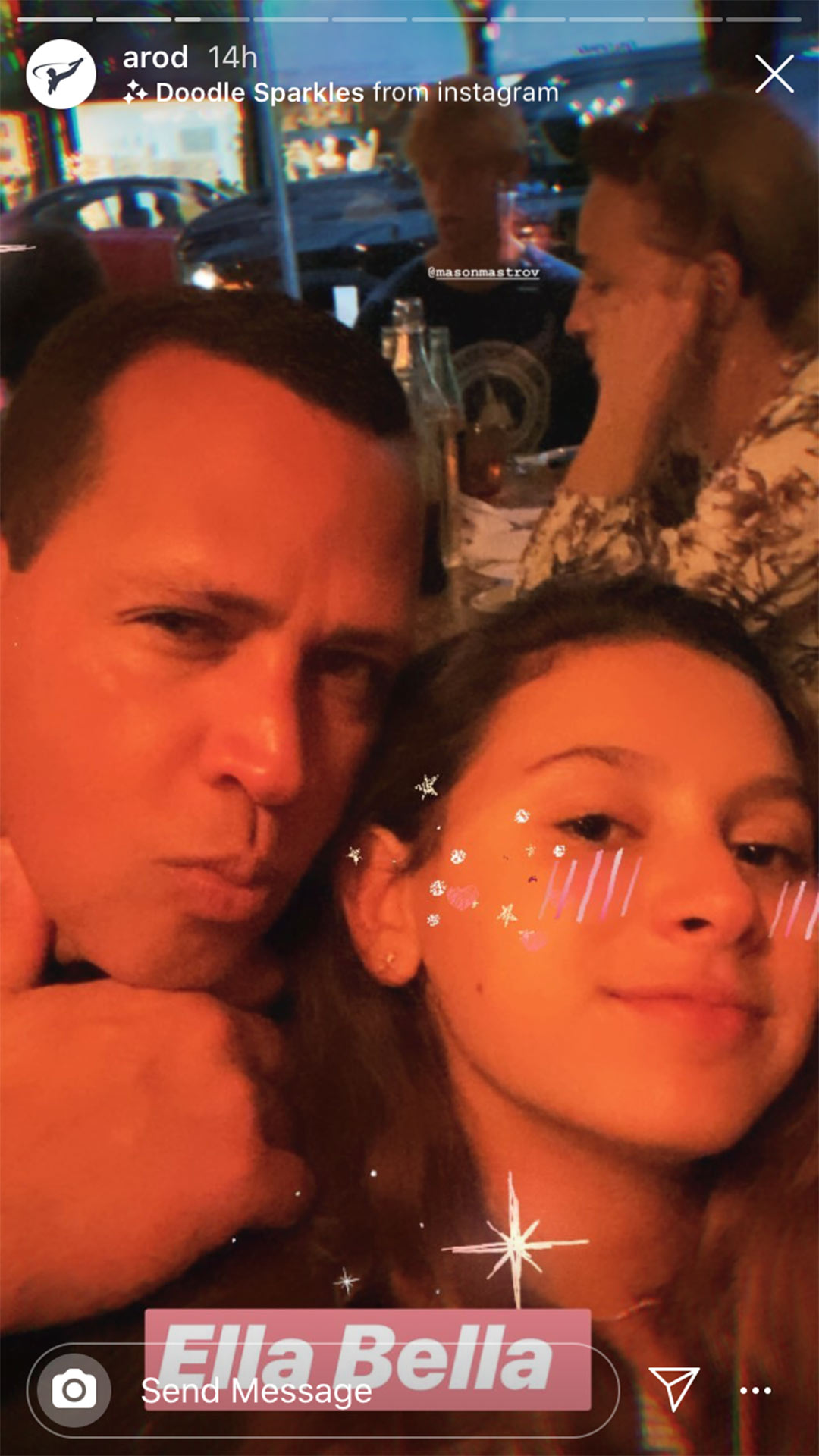 Arod and daughter