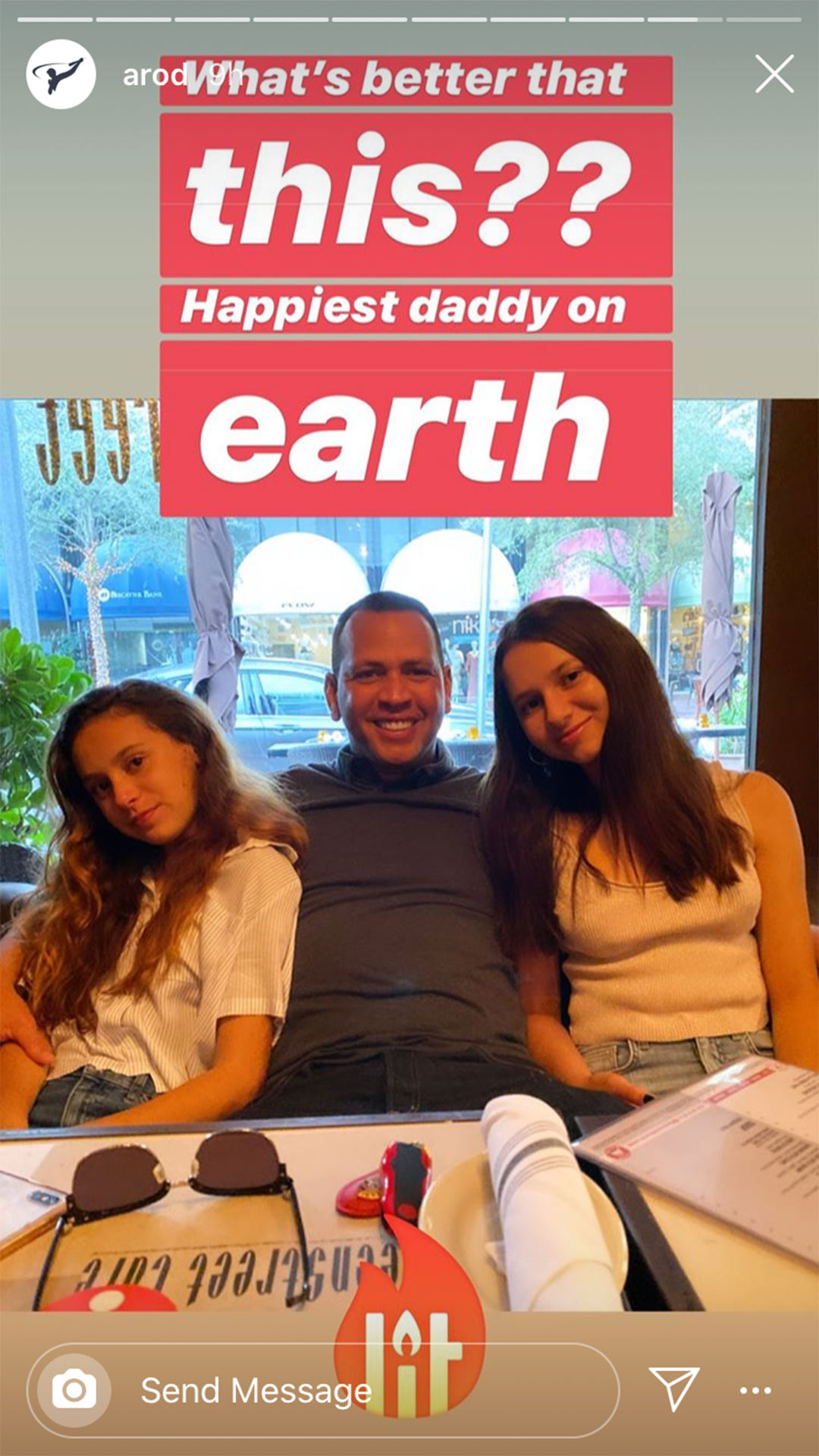 Arod and daughters
