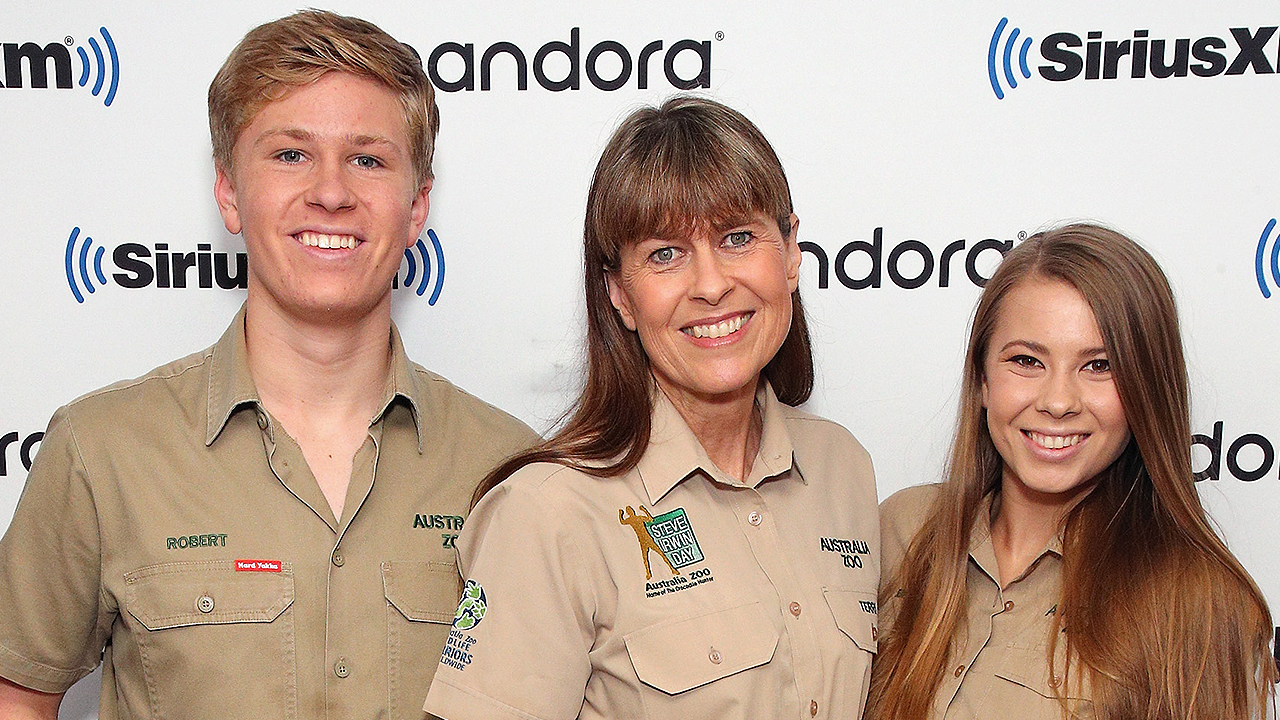 Terri Irwin Stopped Worrying About Son Robert Wrestling Crocs 'Once He Outweighed Me'