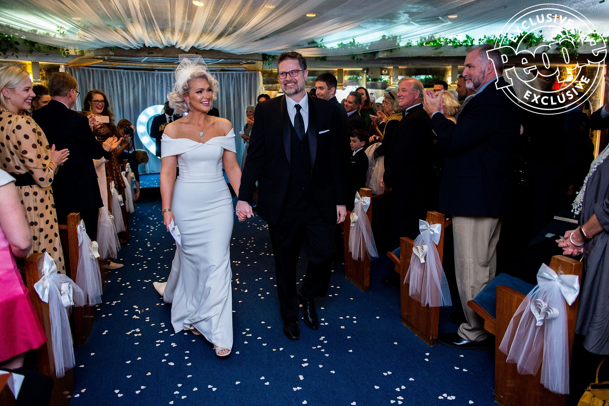 Jenn Lyon wedding