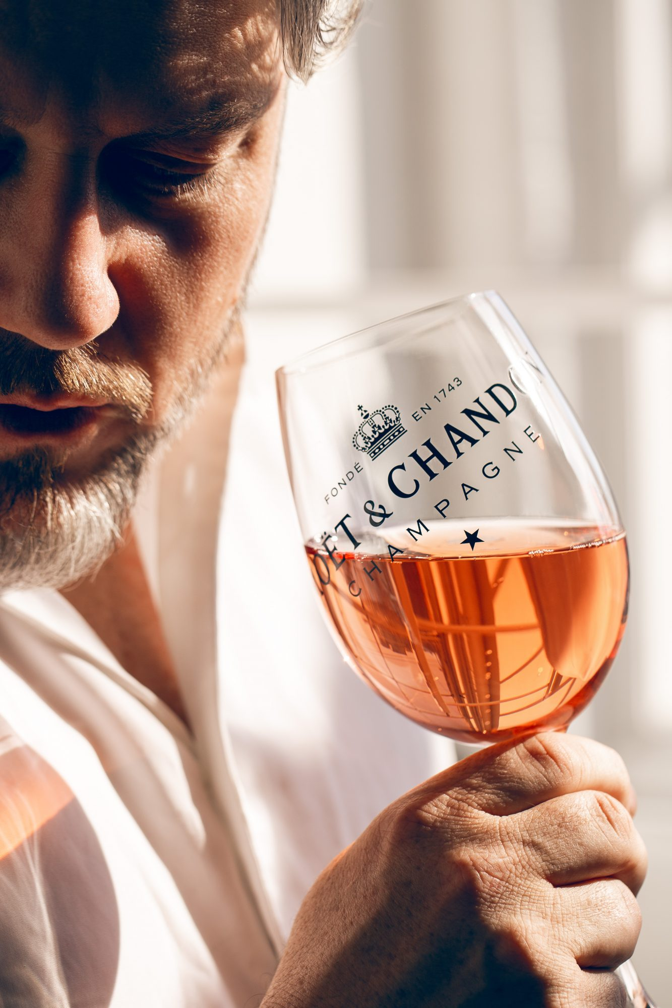 Jonathan Mannion for Moët & Chandon Nectar Imperial Rose