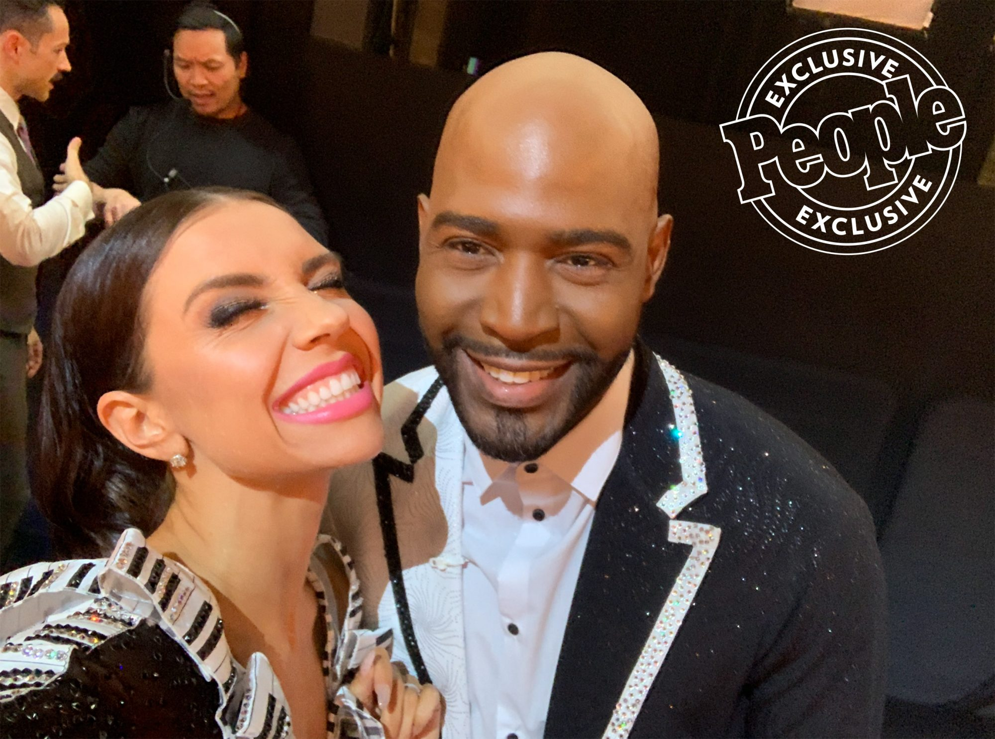 DWTS Pro Jenna Johnson Details Movie Week with Karamo Brown