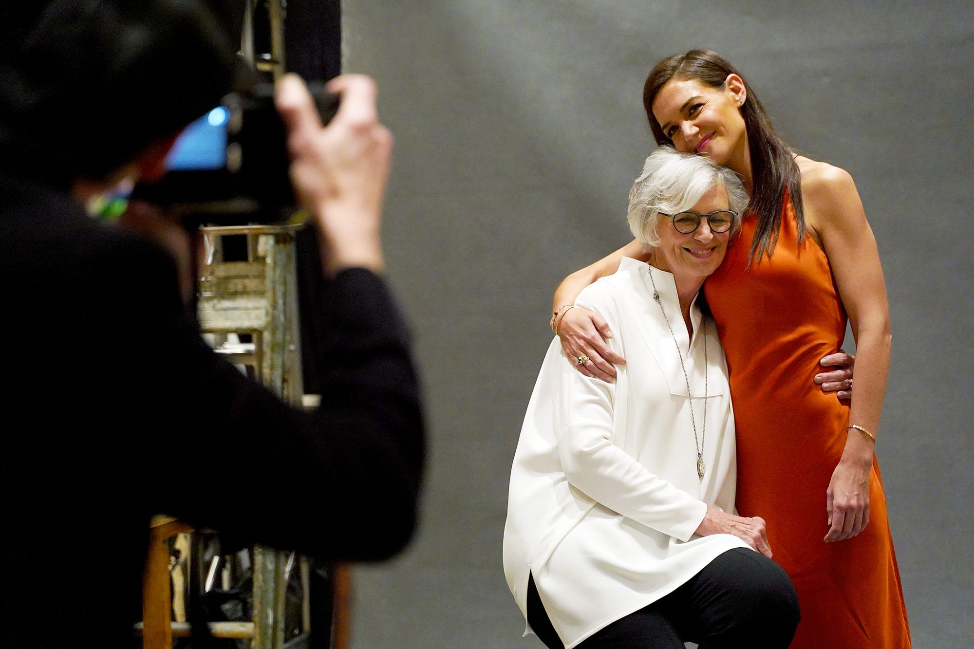 Kathleen A. Stothers-Holmes and Katie Holmes