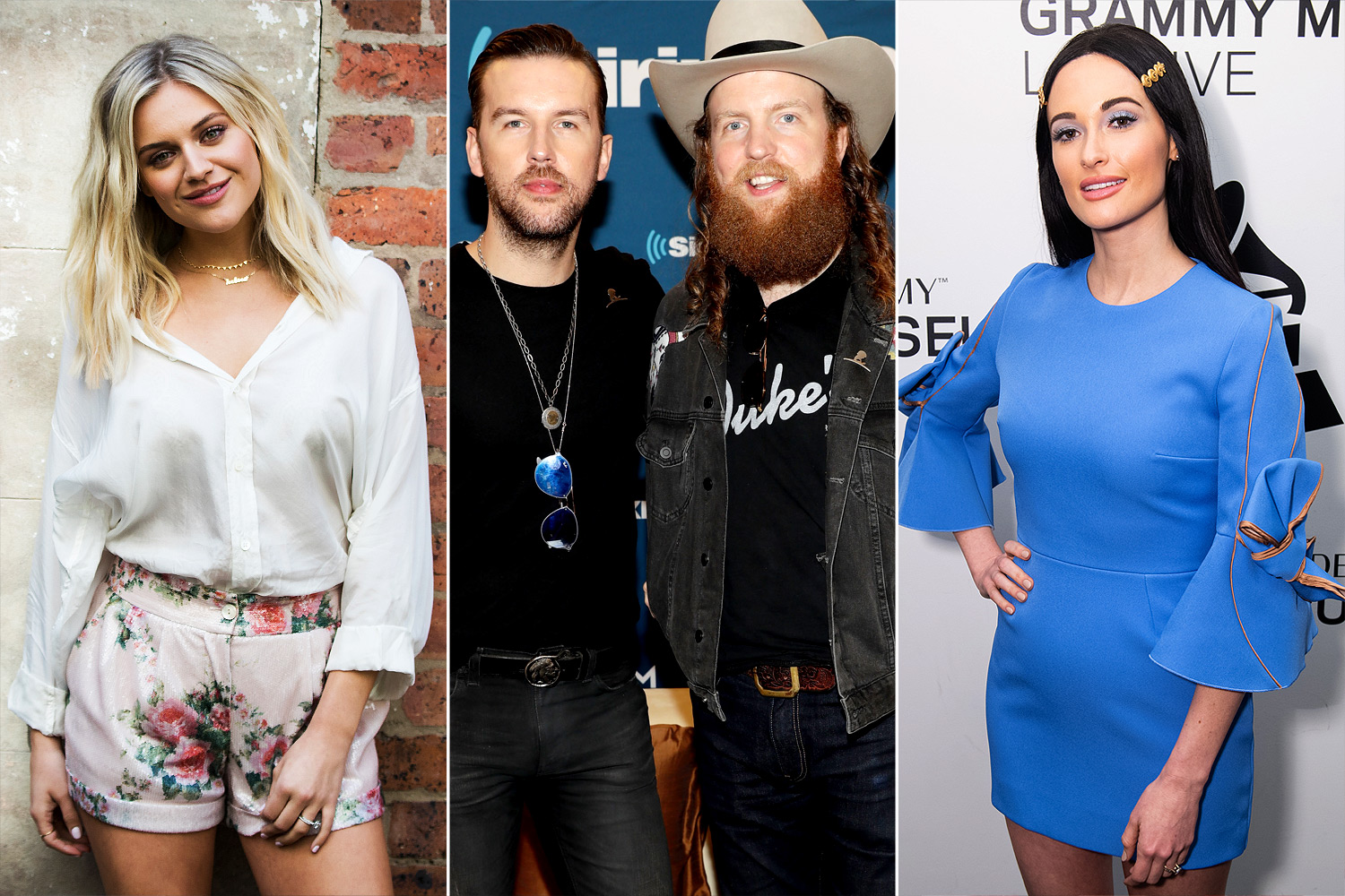Kelsea Ballerini, The Brothers Osborne and Kacey Muscgraves