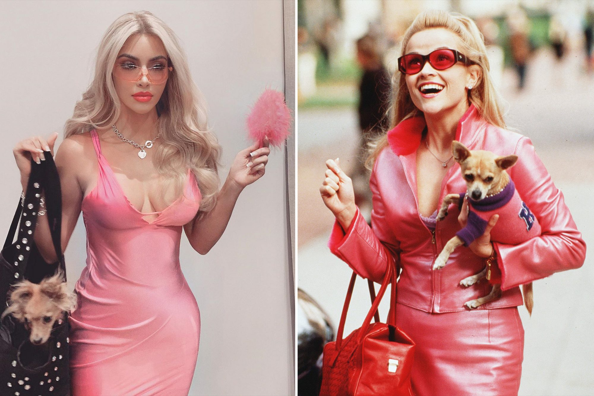 Kim Kardashian Reese Witherspoon Legally Blonde Halloween