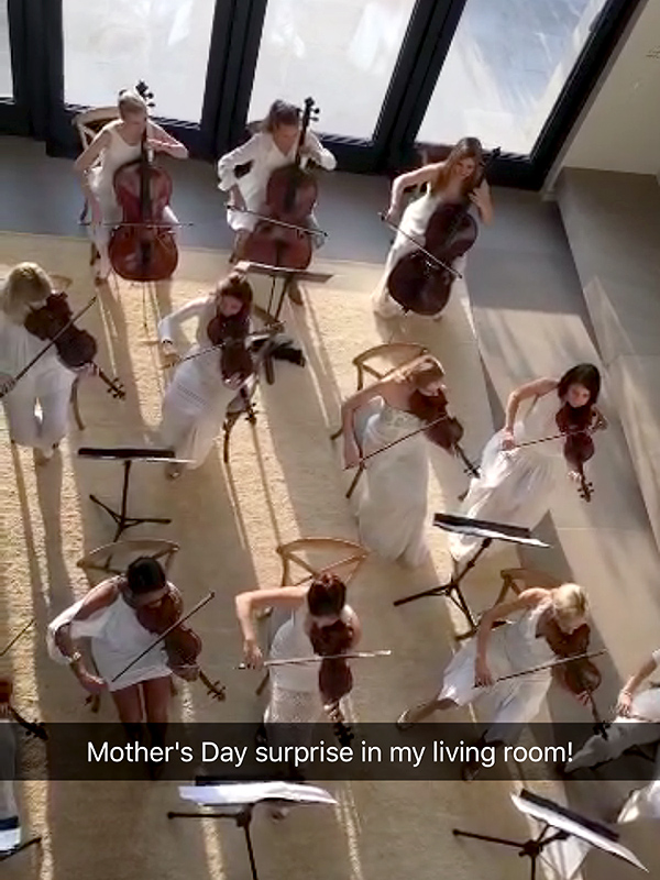 AN ORCHESTRA IN THE LIVING ROOM