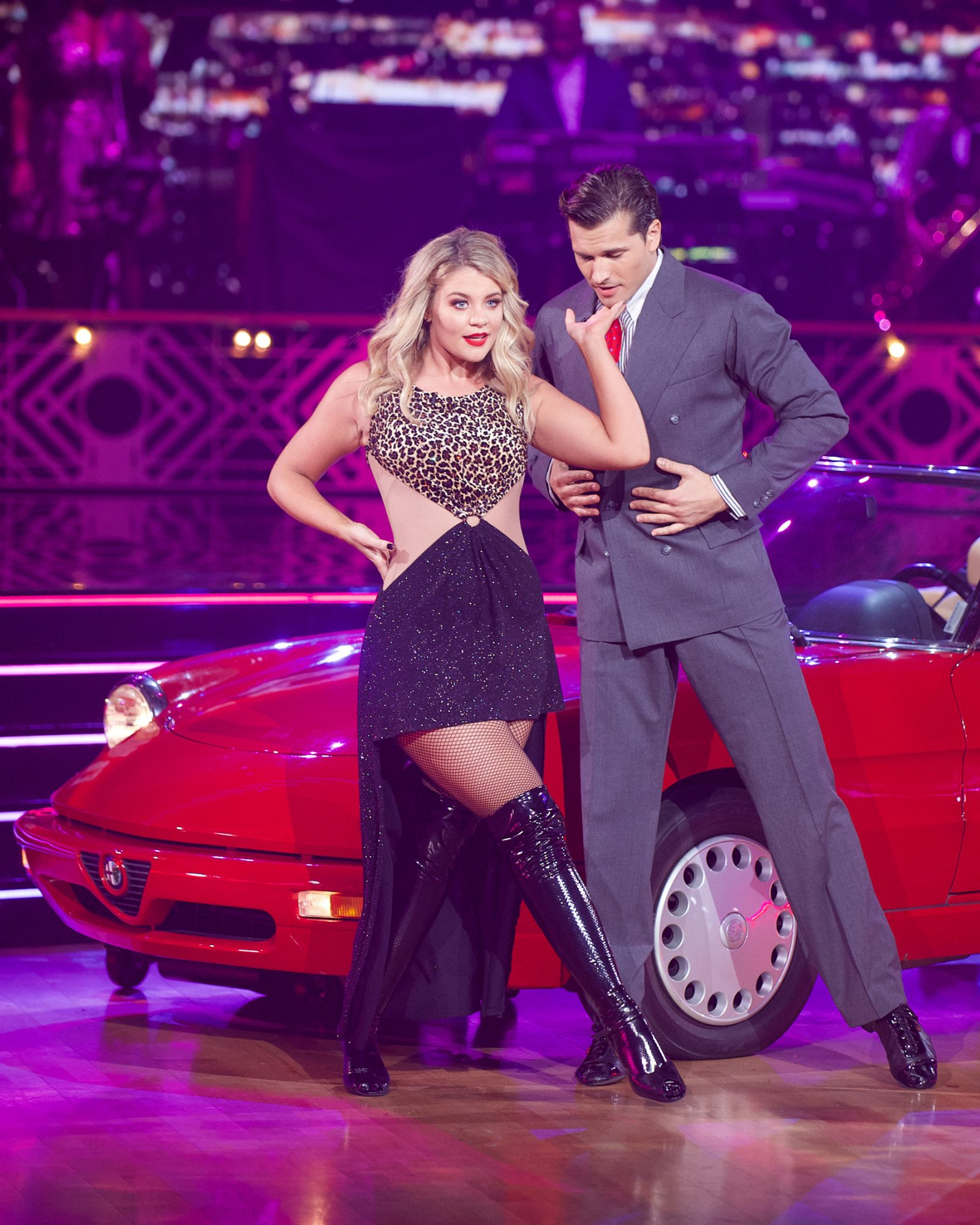 LAUREN ALAINA, GLEB SAVCHENKO Dancing with the Stars