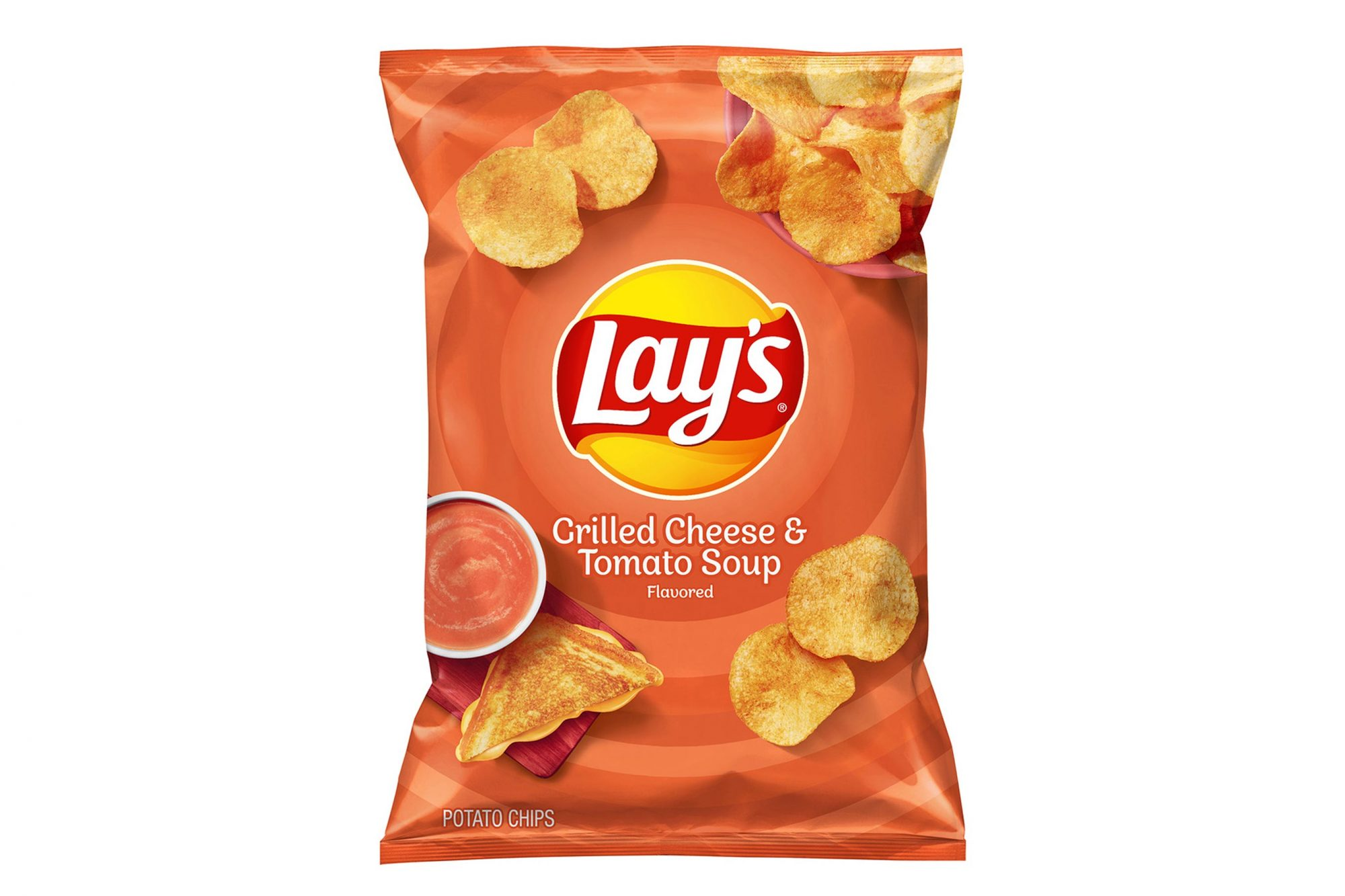 Lays tomato grilled cheese