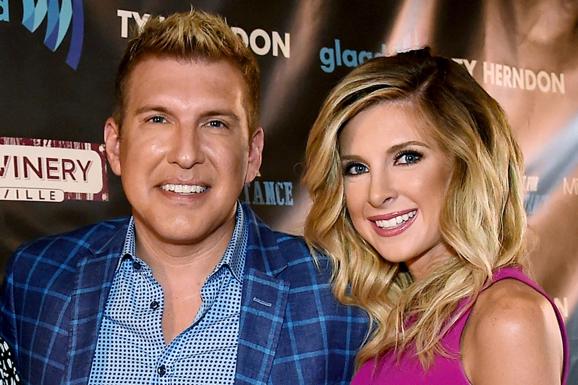 Todd Chrisley and Lindsie Chrisley Campbell