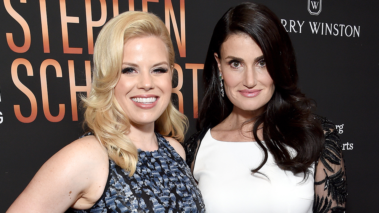Actress Megan Hilty Says Idina Menzel Was 'So Kind' Ahead of Her Broadway Debut