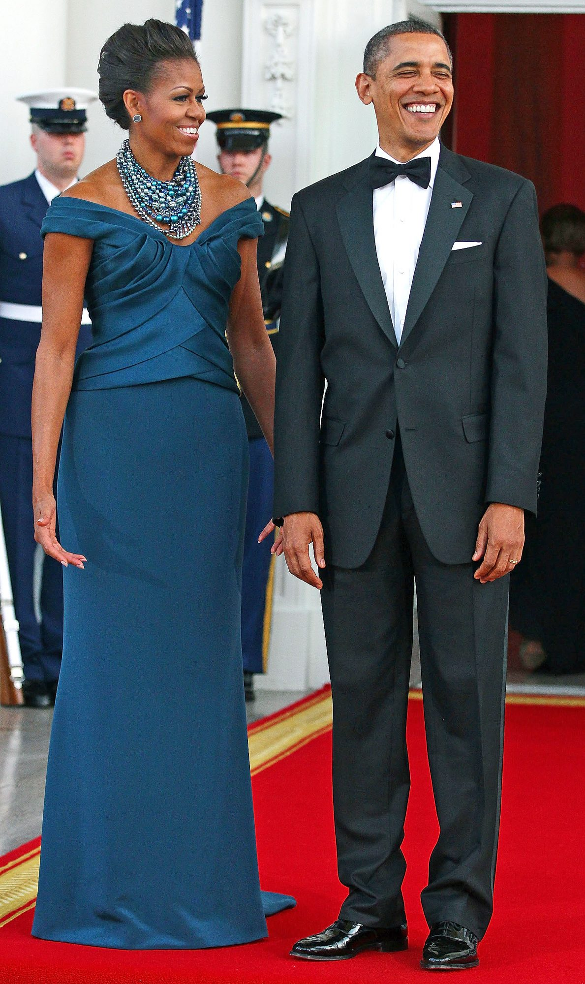 President And Mrs. Obama Host Official Visit Of UK Prime Minister Cameron