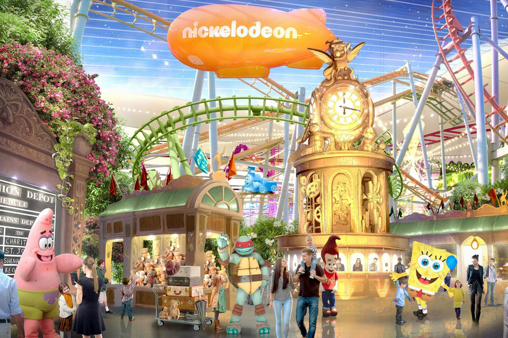 Nickelodeon Universe at American Dream Mall