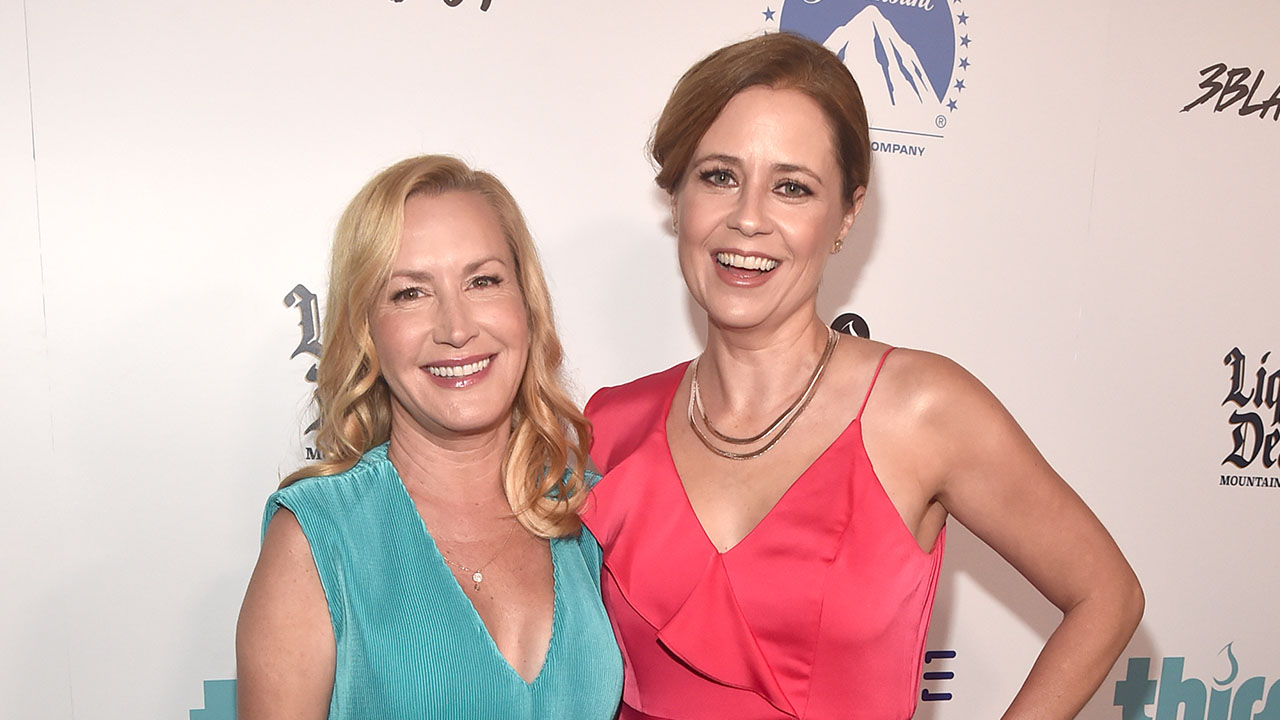 Jenna Fischer and Angela Kinsey Head Back to Dunder Mifflin for 'Office Ladies'
