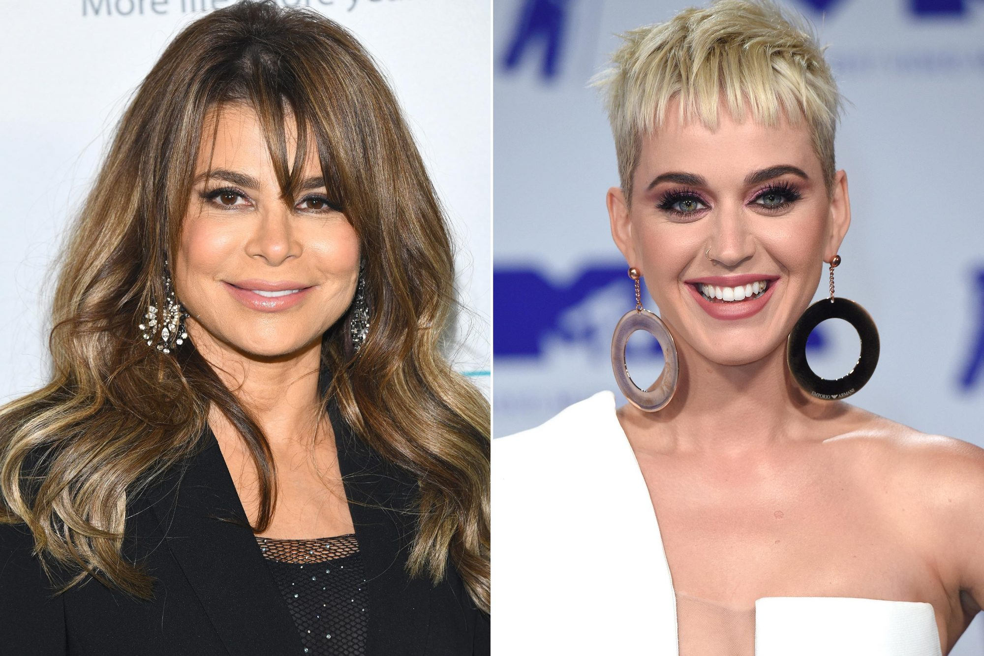 Paula Abdul, Katy Perry
