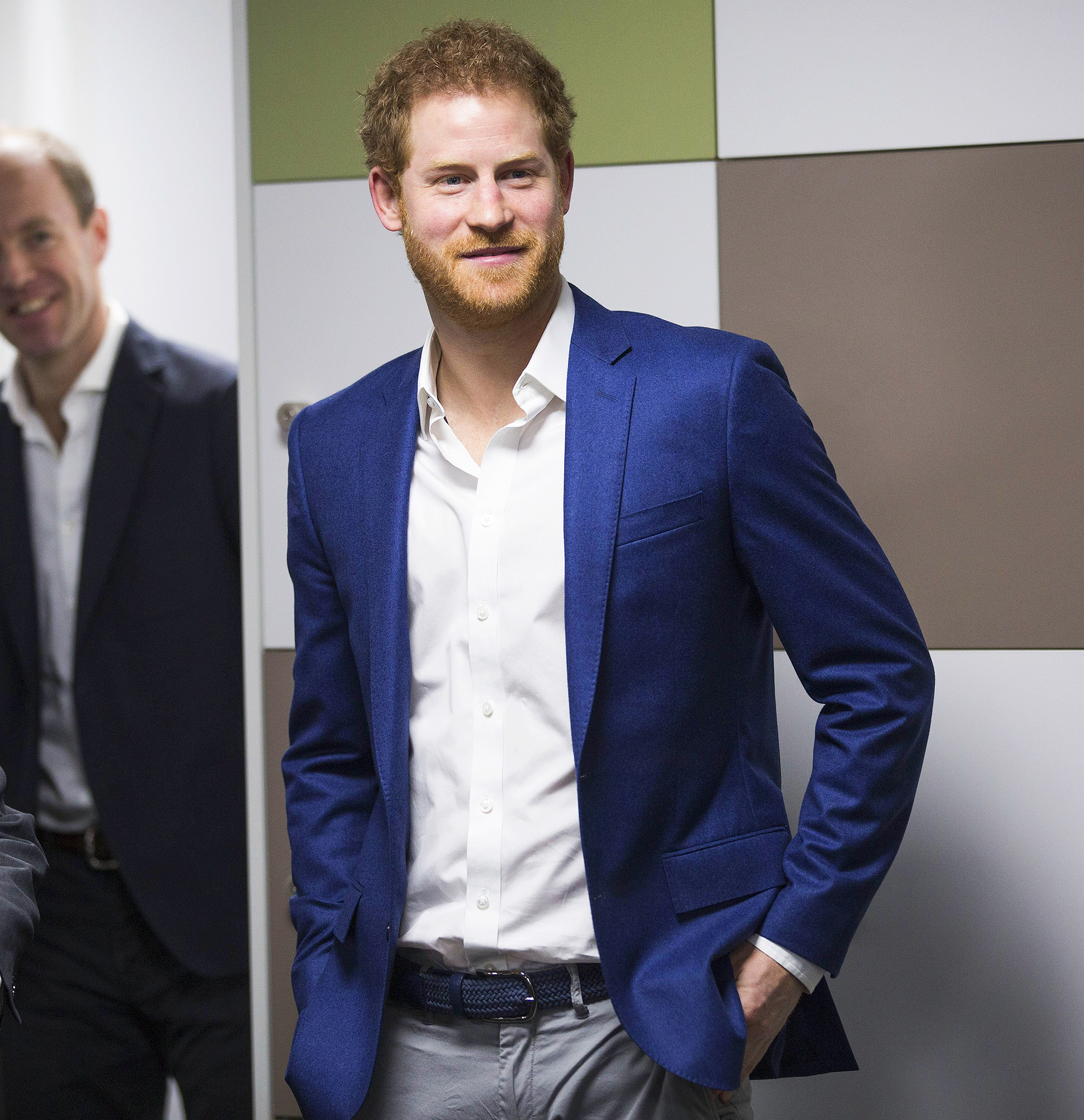 Prince Harry visits the Big White Wall in London