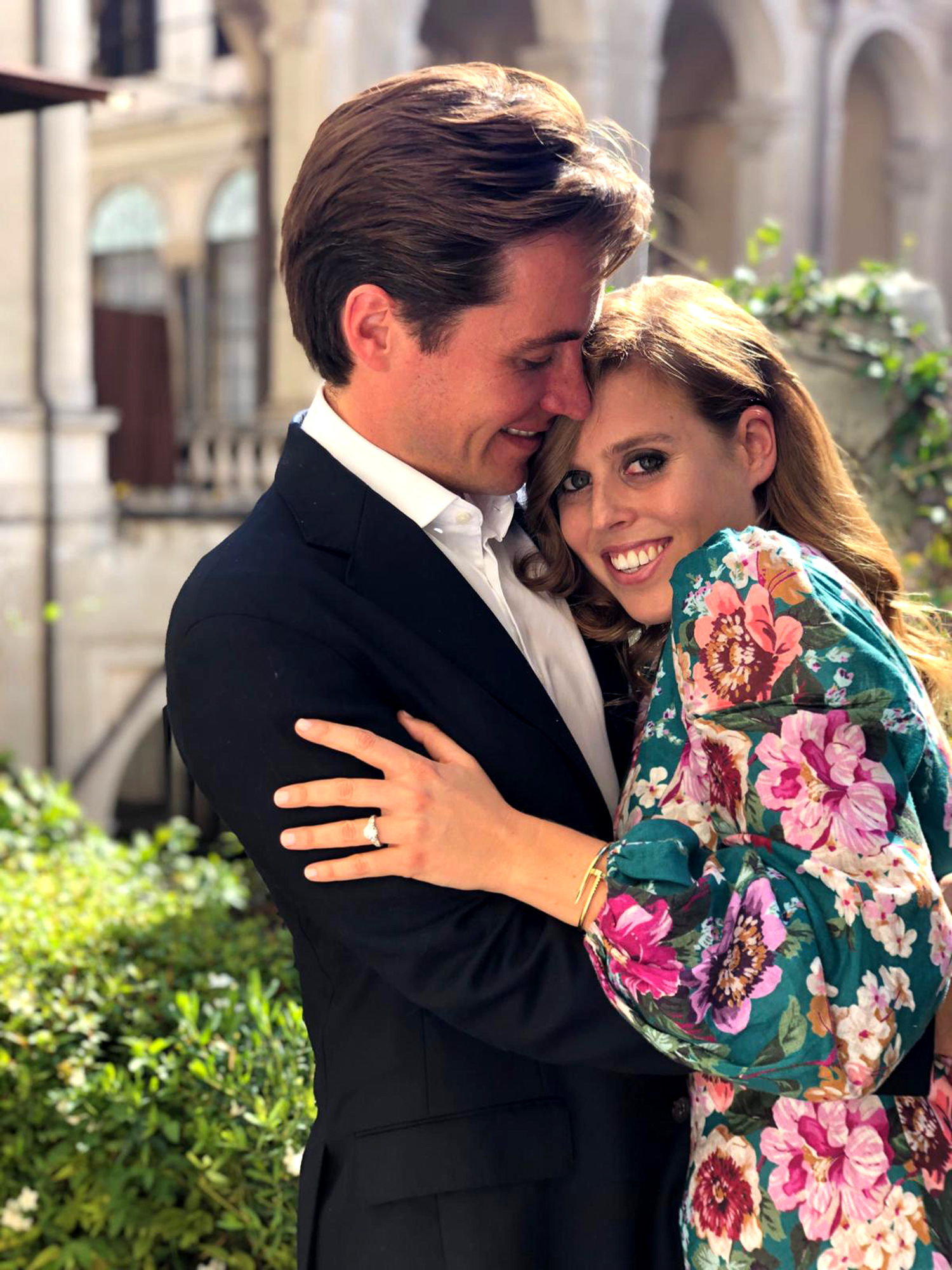 Edoardo Mapelli Mozzi and Princess Beatrice of York