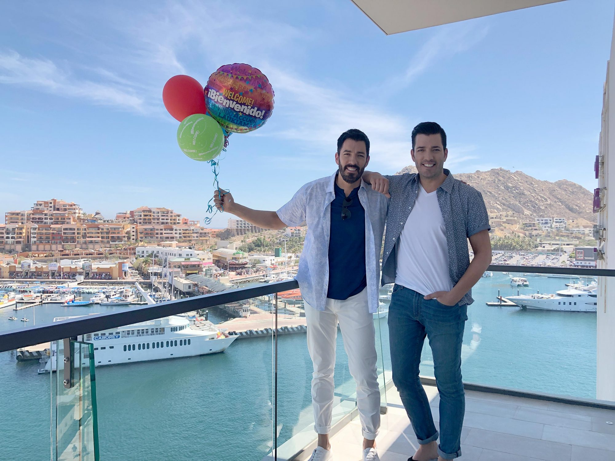 Property Brothers birthday Mexico