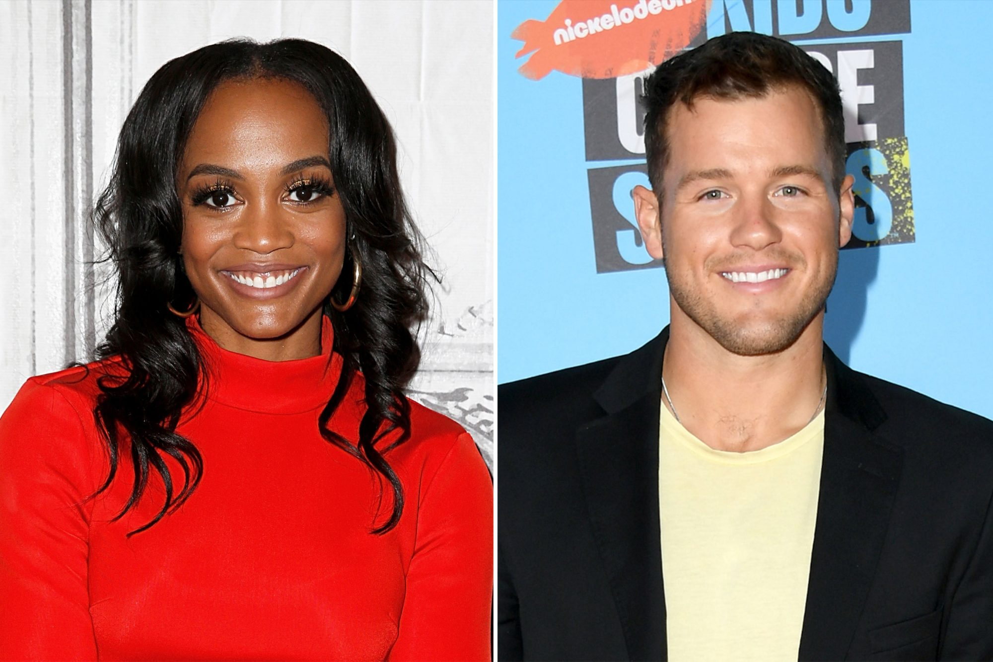 Rachel Lindsay and Colton Underwood