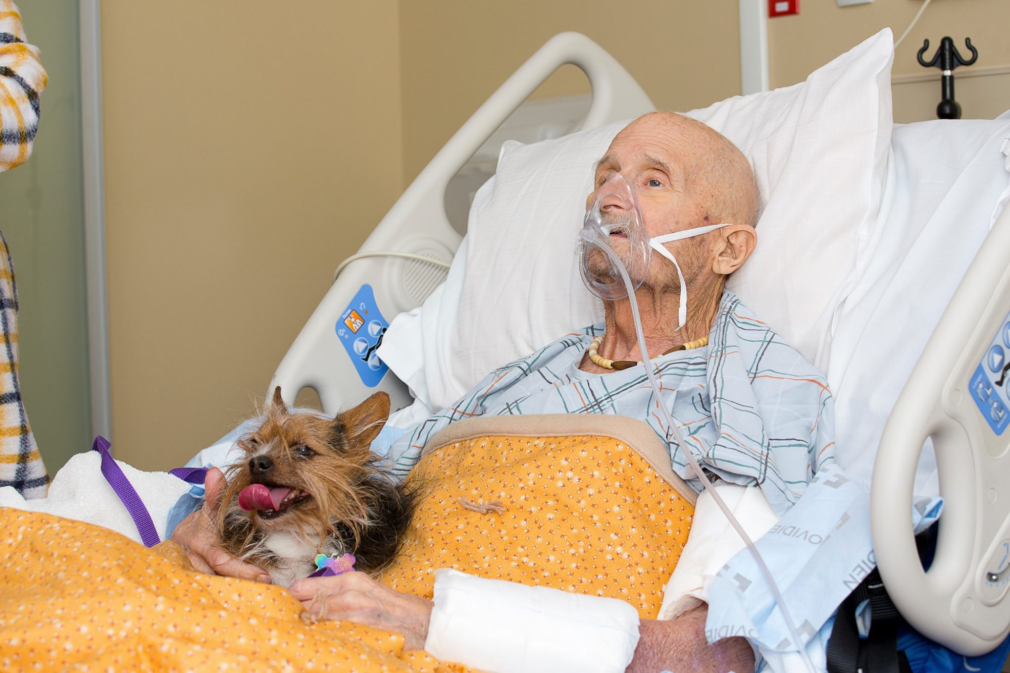 Yesterday was a special day for a Veteran named John Vincent and his beloved dog Patch.