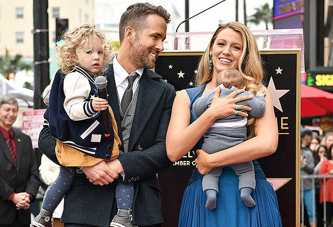Ryan Reynolds honored with star on The Hollywood Walk of Fame, Los Angeles, USA - 15 Dec 2016