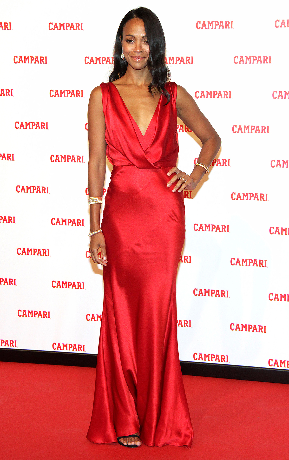 Campari Red Diaries 'The Legend of Red Hand' film premiere, Milan, Italy - 30 Jan 2018