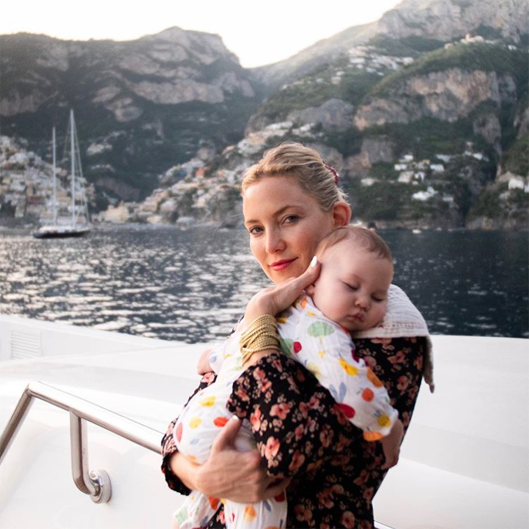 Kate Hudson and Baby