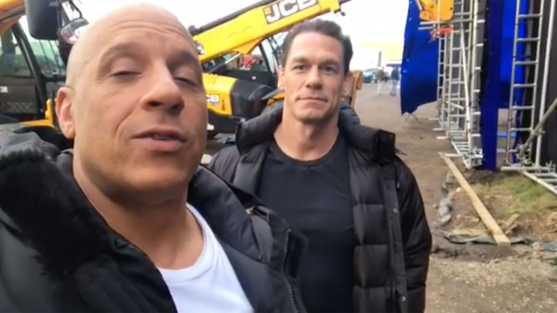 Vin Diesel and John Cena