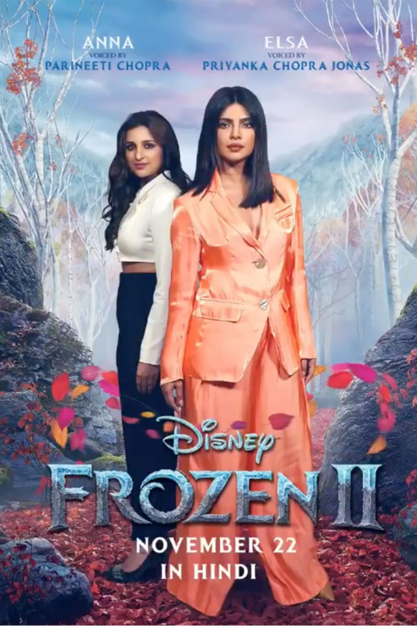 Priyanka Chopra Jonas in Frozen 2 Hindi