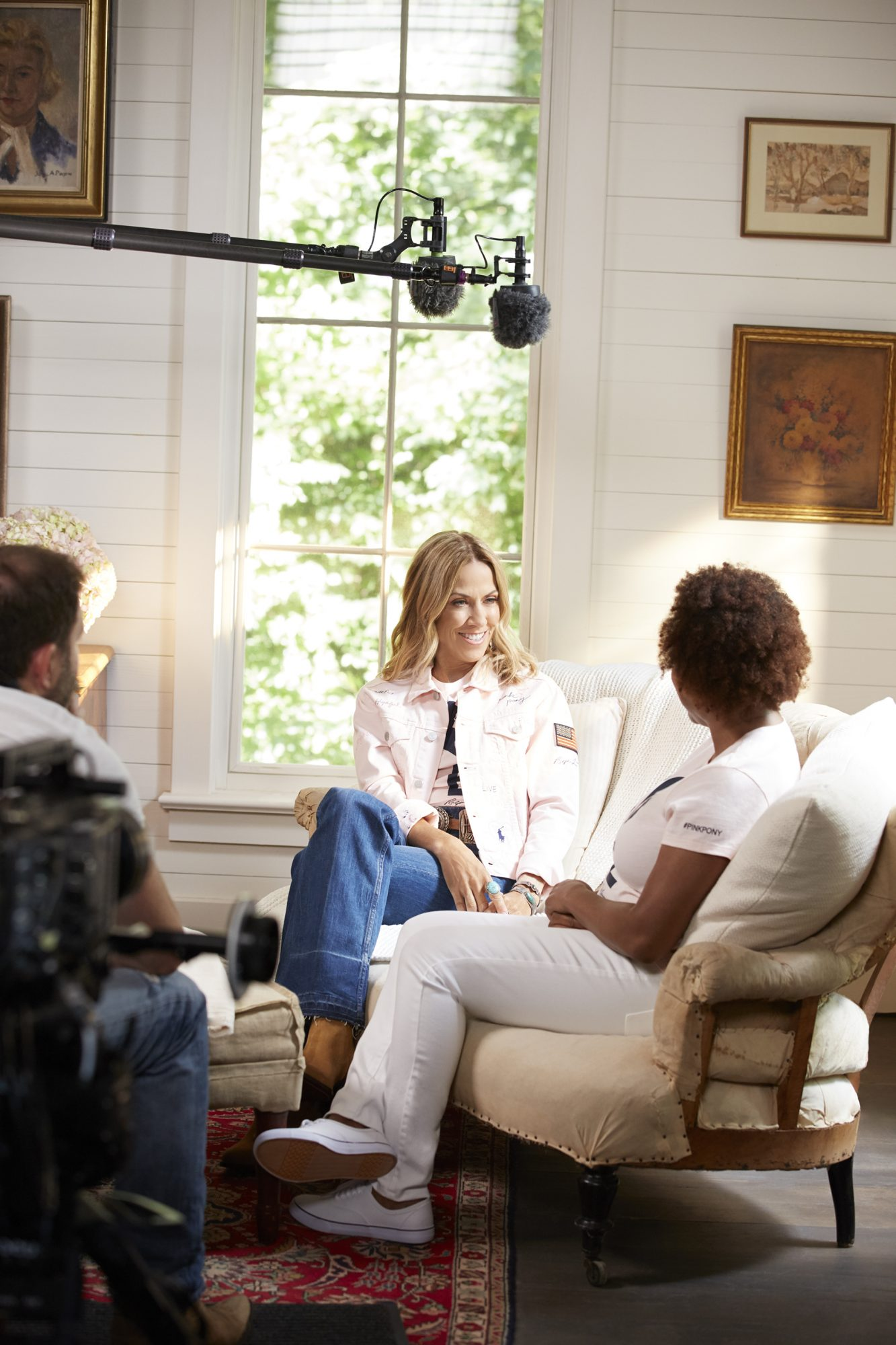 "Sheryl Crow stars in ""Together in Pink"" Ralph Lauren Campaign"
