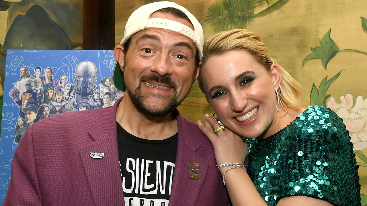 Kevin Smith and Daughter Harley Quinn Share the Hilarious Reason They Fought While Filming