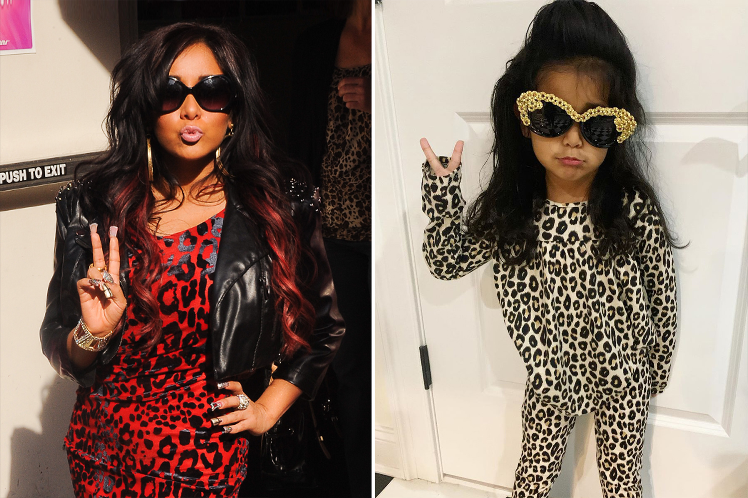 Snooki's daughter as Jersey Shore