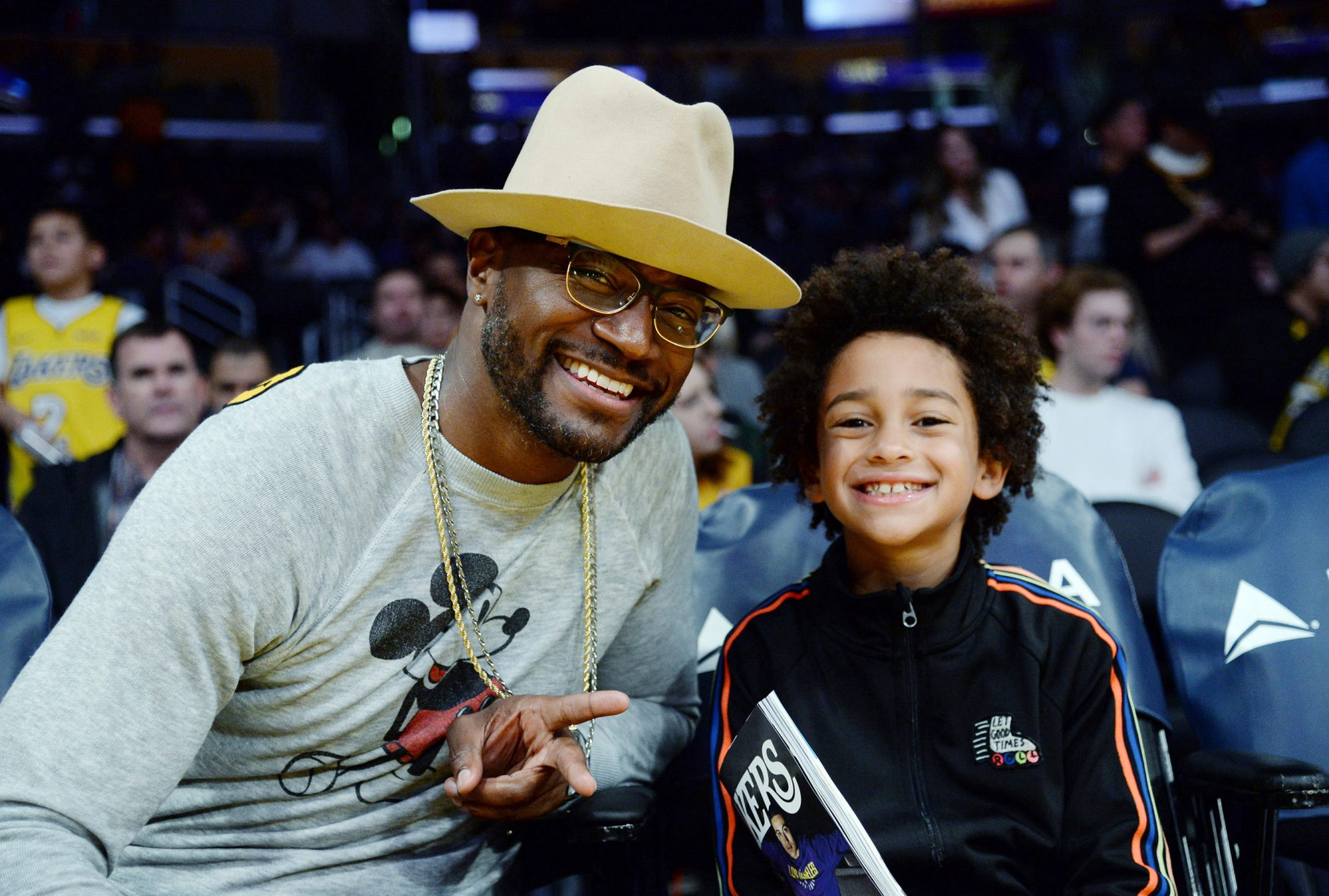 Taye Diggs and his son Walker Diggs