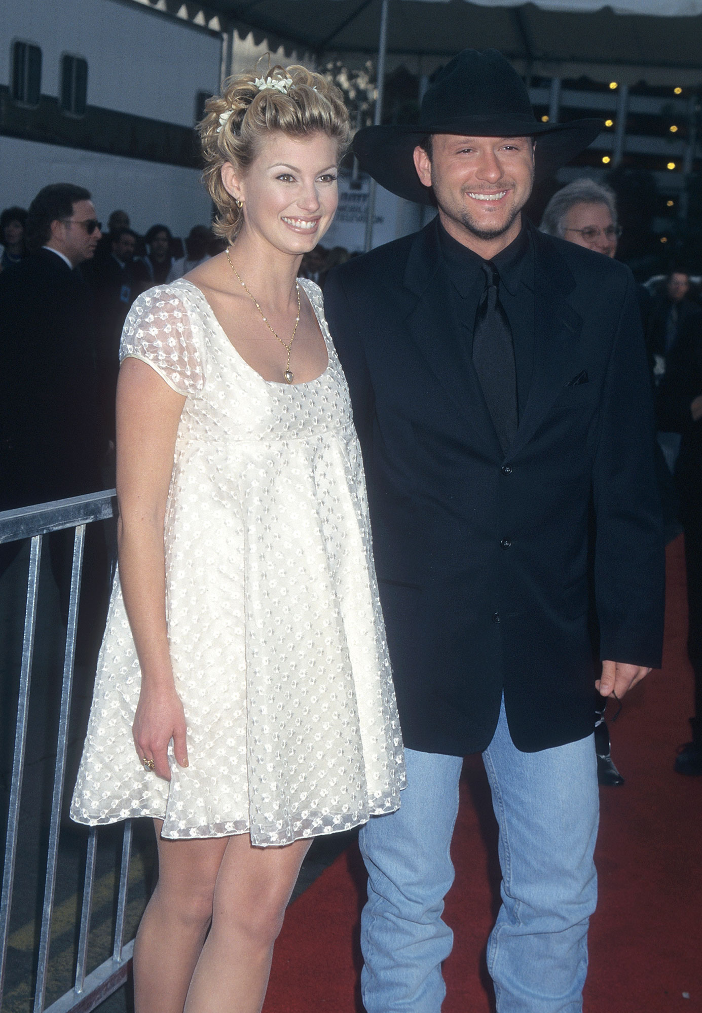 Faith Hill and singer Tim McGraw