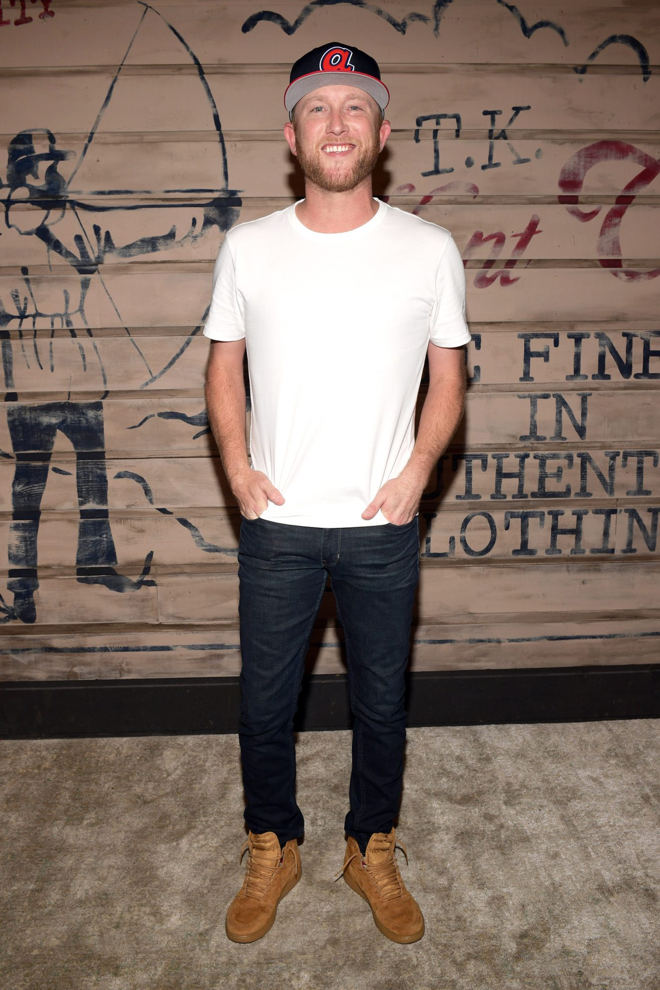 Cole Swindell attends the Tribe Kelley Celebration For Brand New Hunt Club Collection