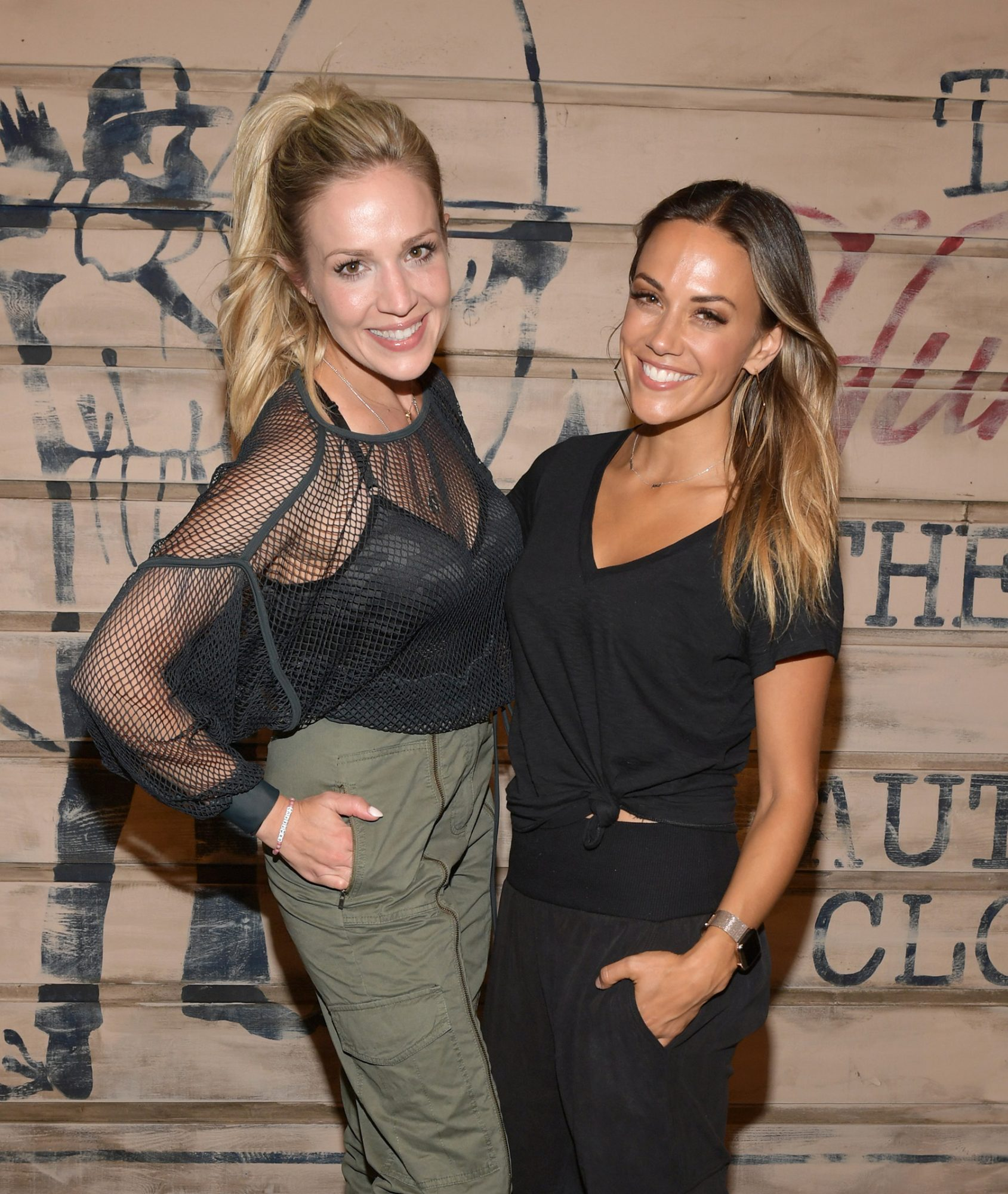 Kristen White and Jana Kramer attend the Tribe Kelley Celebration For Brand New Hunt Club Collection
