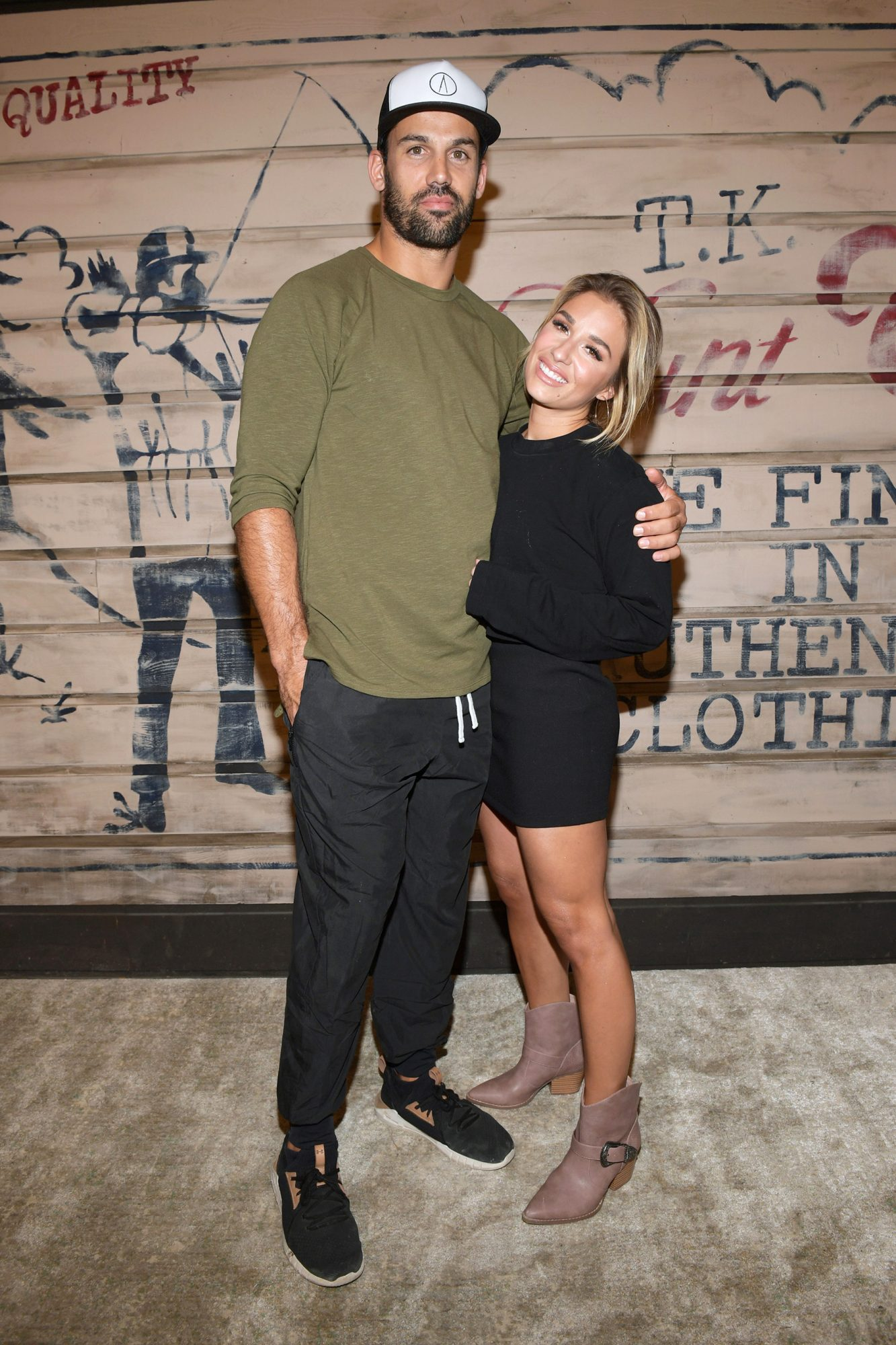 Eric Decker and Jessie James Decker attend the Tribe Kelley Celebration For Brand New Hunt Club Collection