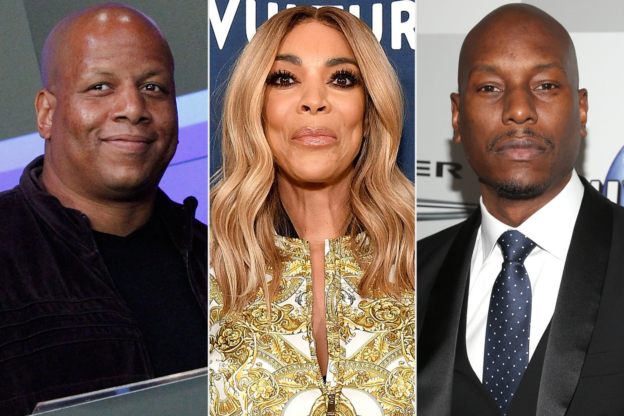 Kevin Hunter, Wendy Williams, Tyrese Gibson