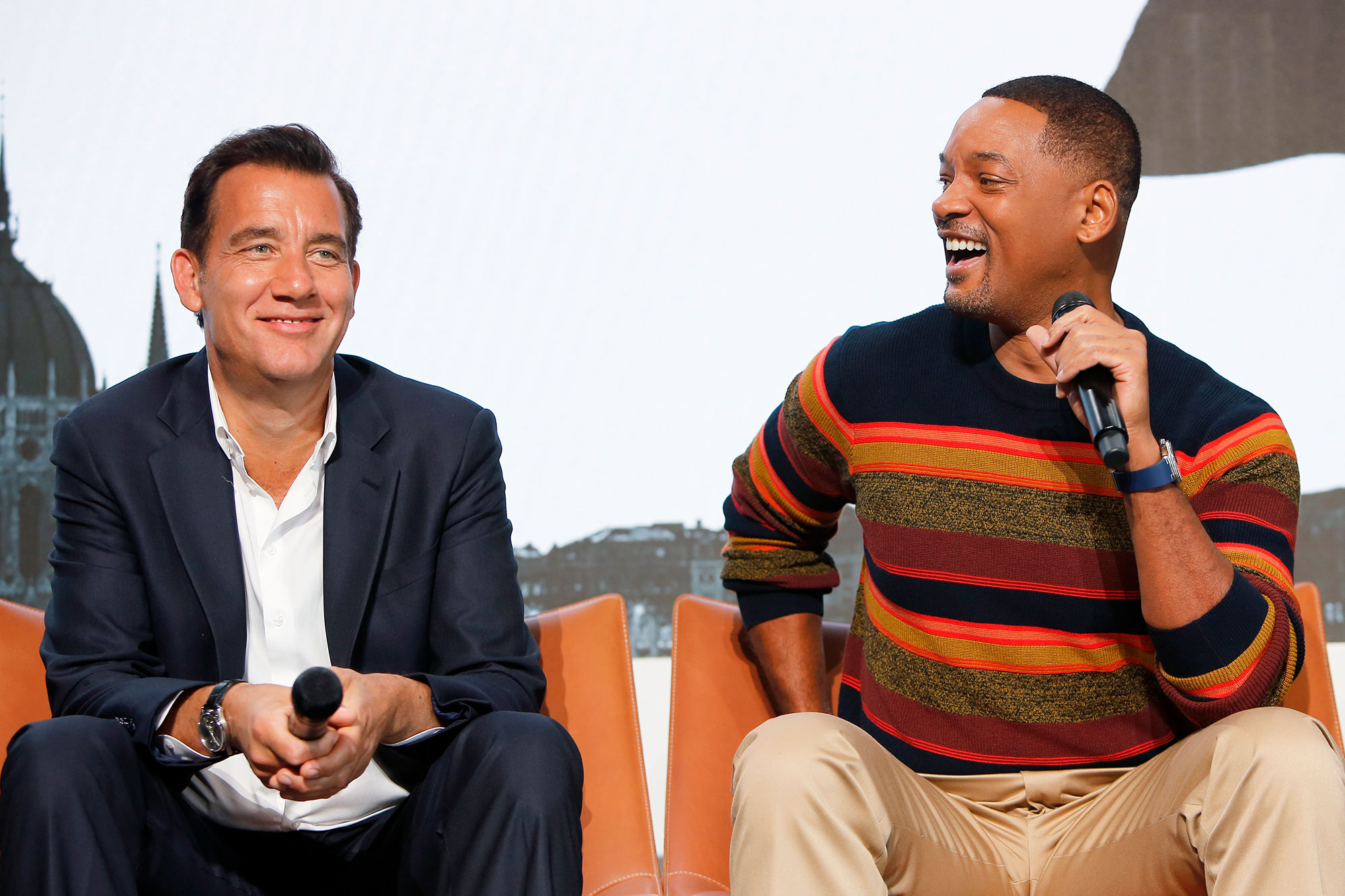 Clive Owen and Will Smith