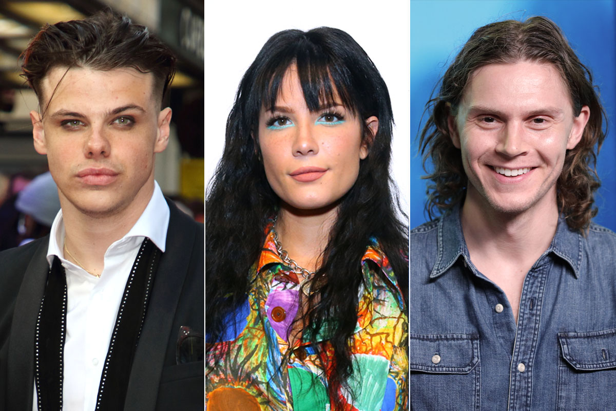 Yungblud. Halsey and Evan Peters