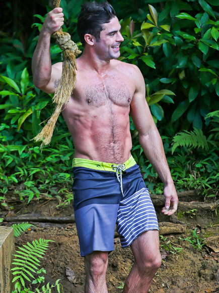 THAT TIME HE SWUNG FROM A ROPE IN HAWAII