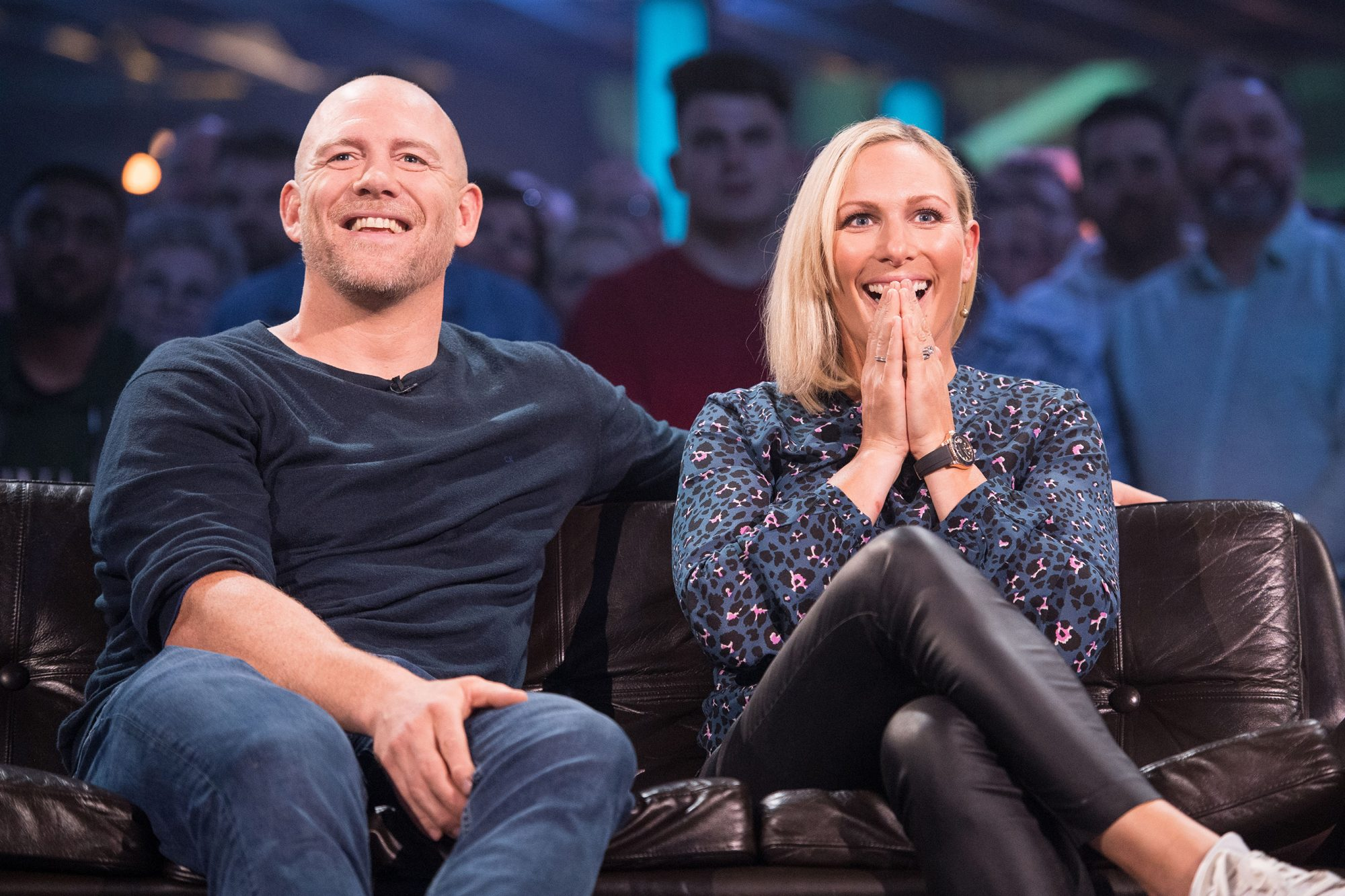 Top Gear Series 27 - TX: n/a - Episode: n/a (No. 3) - Picture Shows: Mike Tindall MBE, Zara Tindall MBE