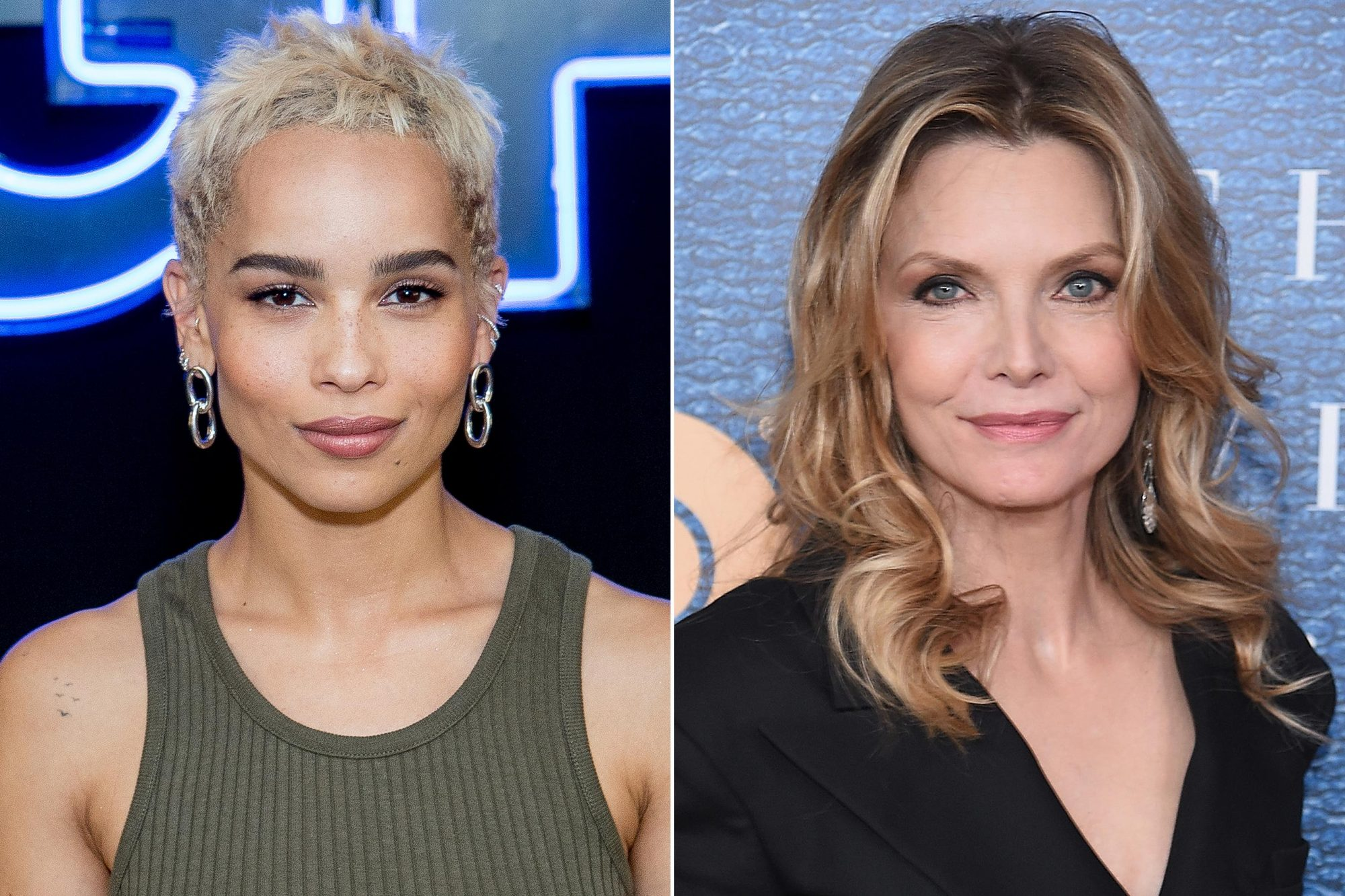 Zoe Kravitz, Michelle Pfeiffer