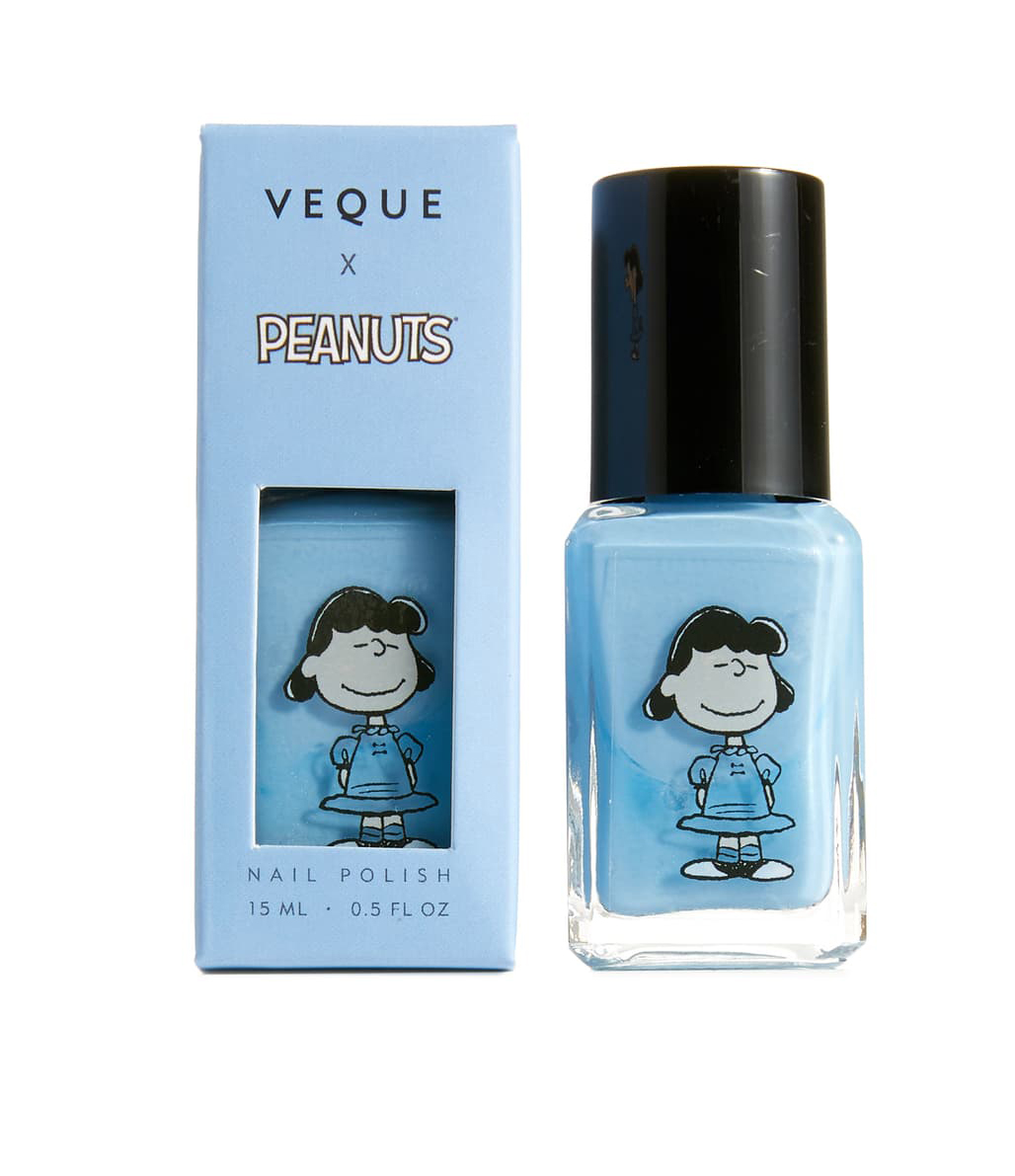 Veque x Peanuts Ve Vernis Nail Polish in Blue-Lucy at Nordstrom