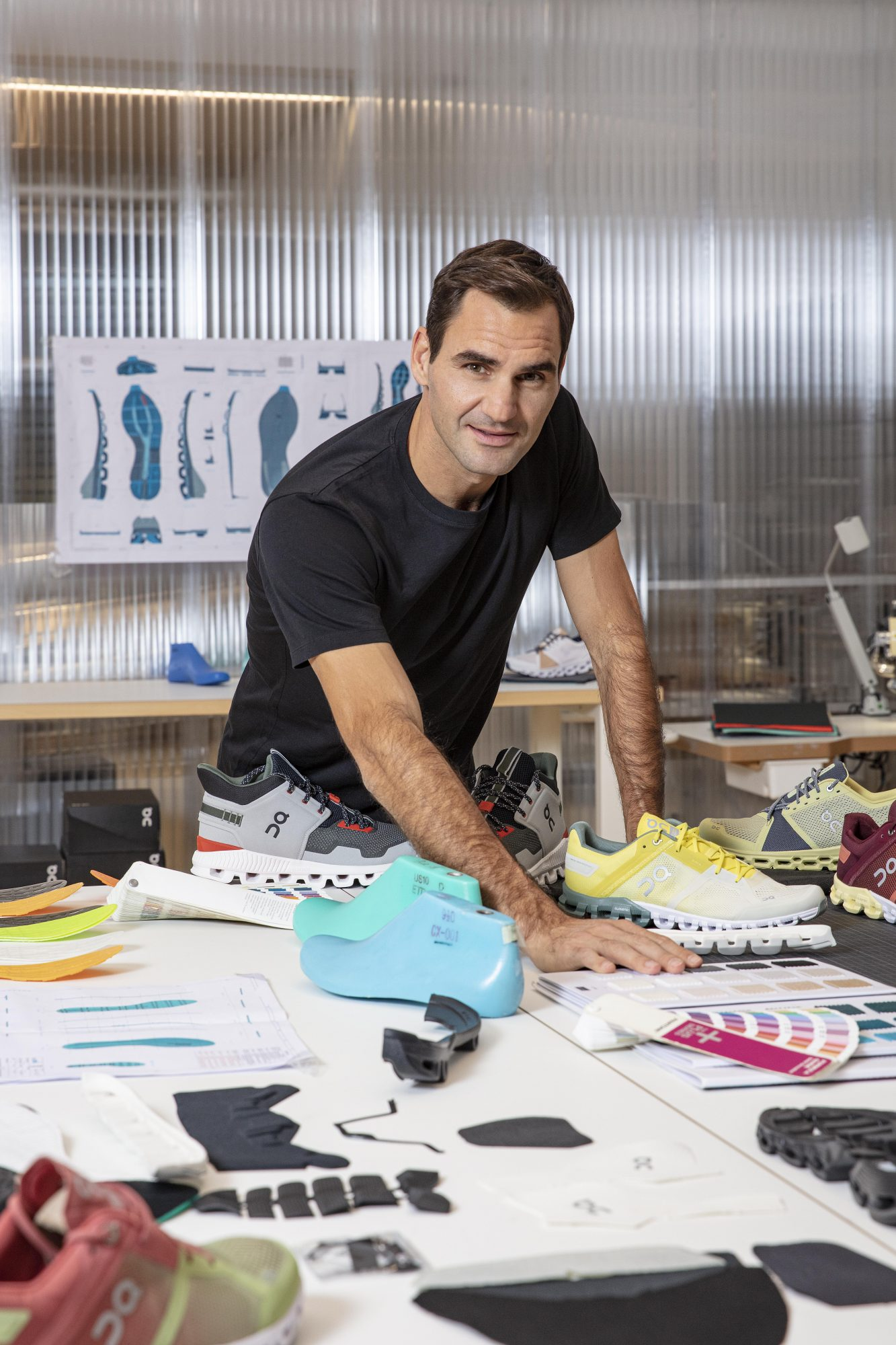 1 Roger Federer working on 2020 products