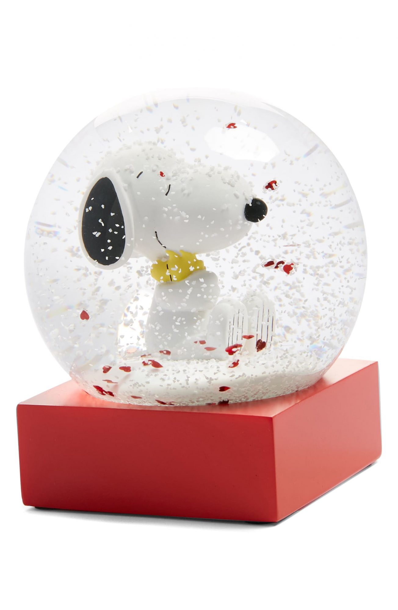 CoolSnowGlobes x Peanuts Snoopy Hug Snow Globe at Nordstrom