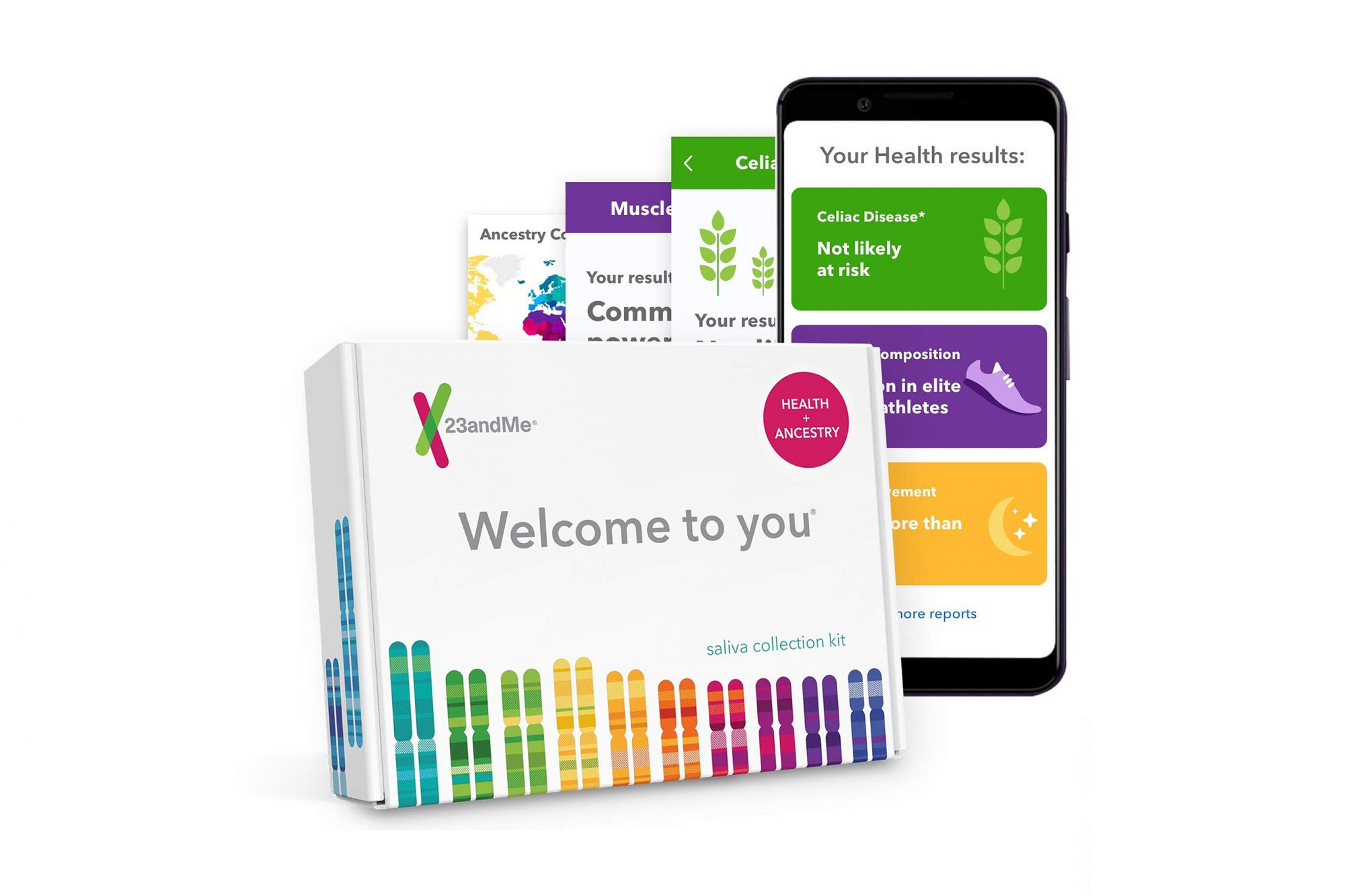 amazon prime day 2019 23andMe DNA Test kit deals